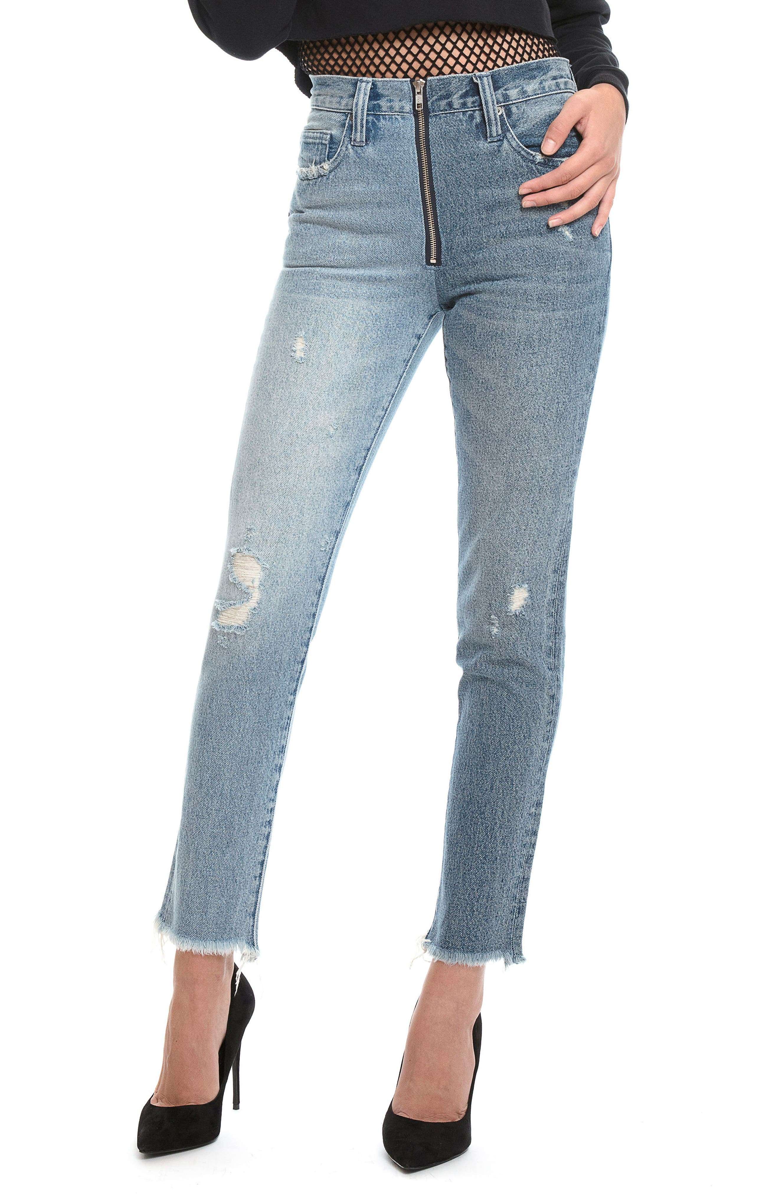 Chevelle Ankle Skinny Jeans,                         Main,                         color, 490