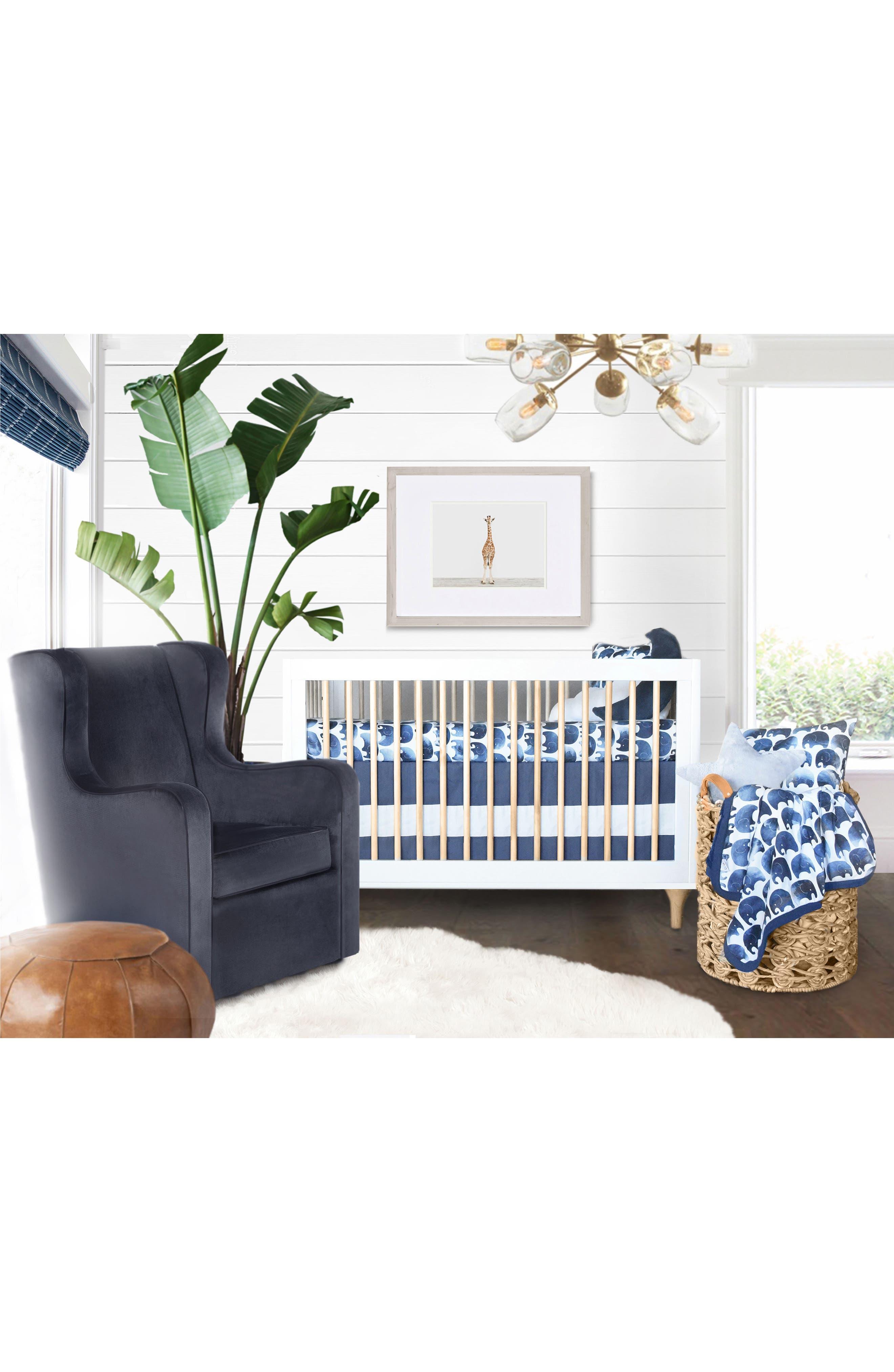 OILO,                             Elefant Jersey Crib Sheets,                             Alternate thumbnail 3, color,                             ELEFANT