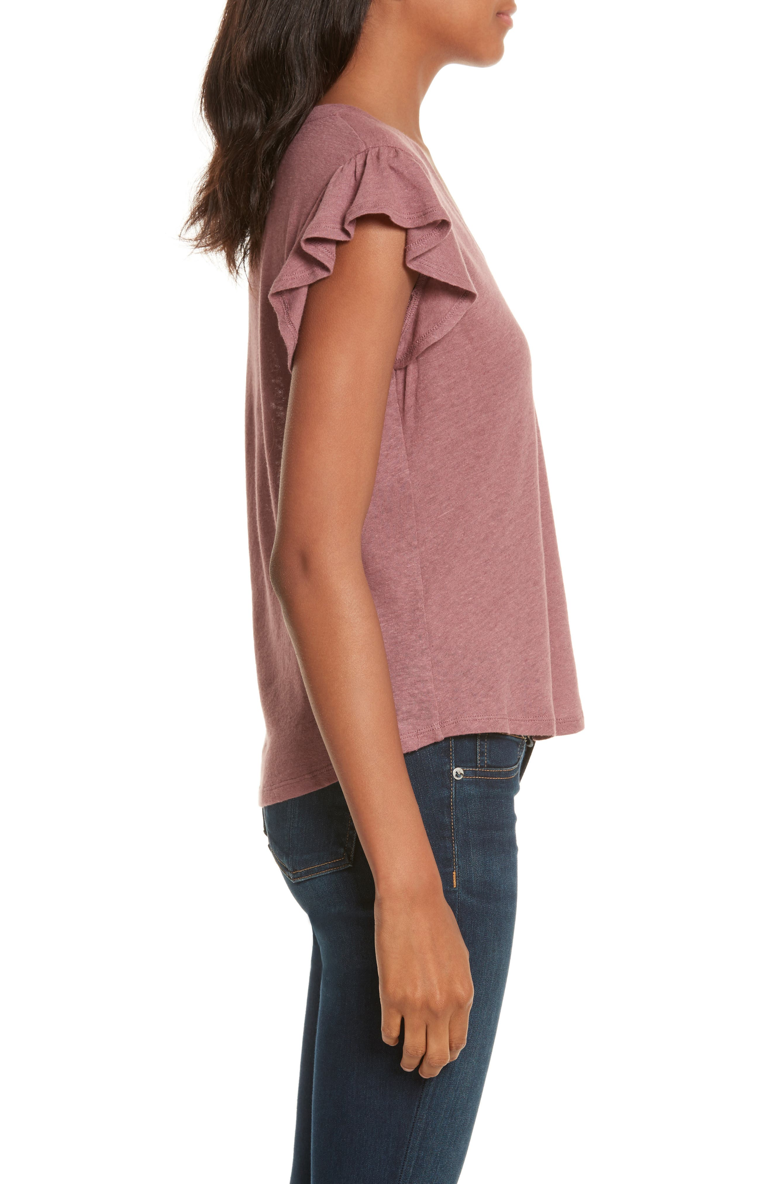 Washed Texture Jersey Tee,                             Alternate thumbnail 22, color,
