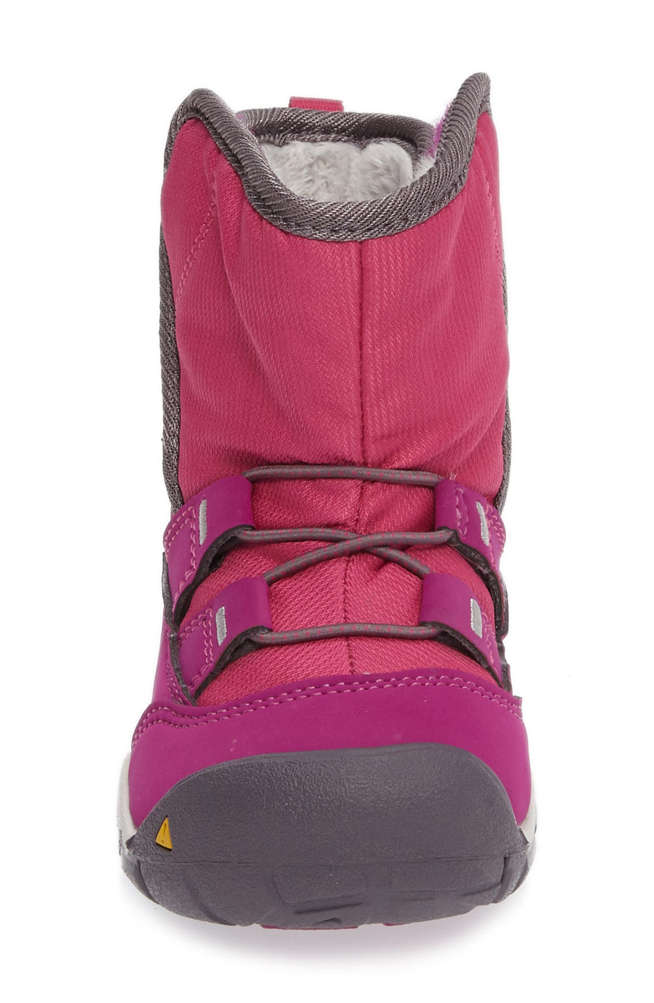 Peek-A-Boot Fleece Lined Boot,                             Alternate thumbnail 12, color,