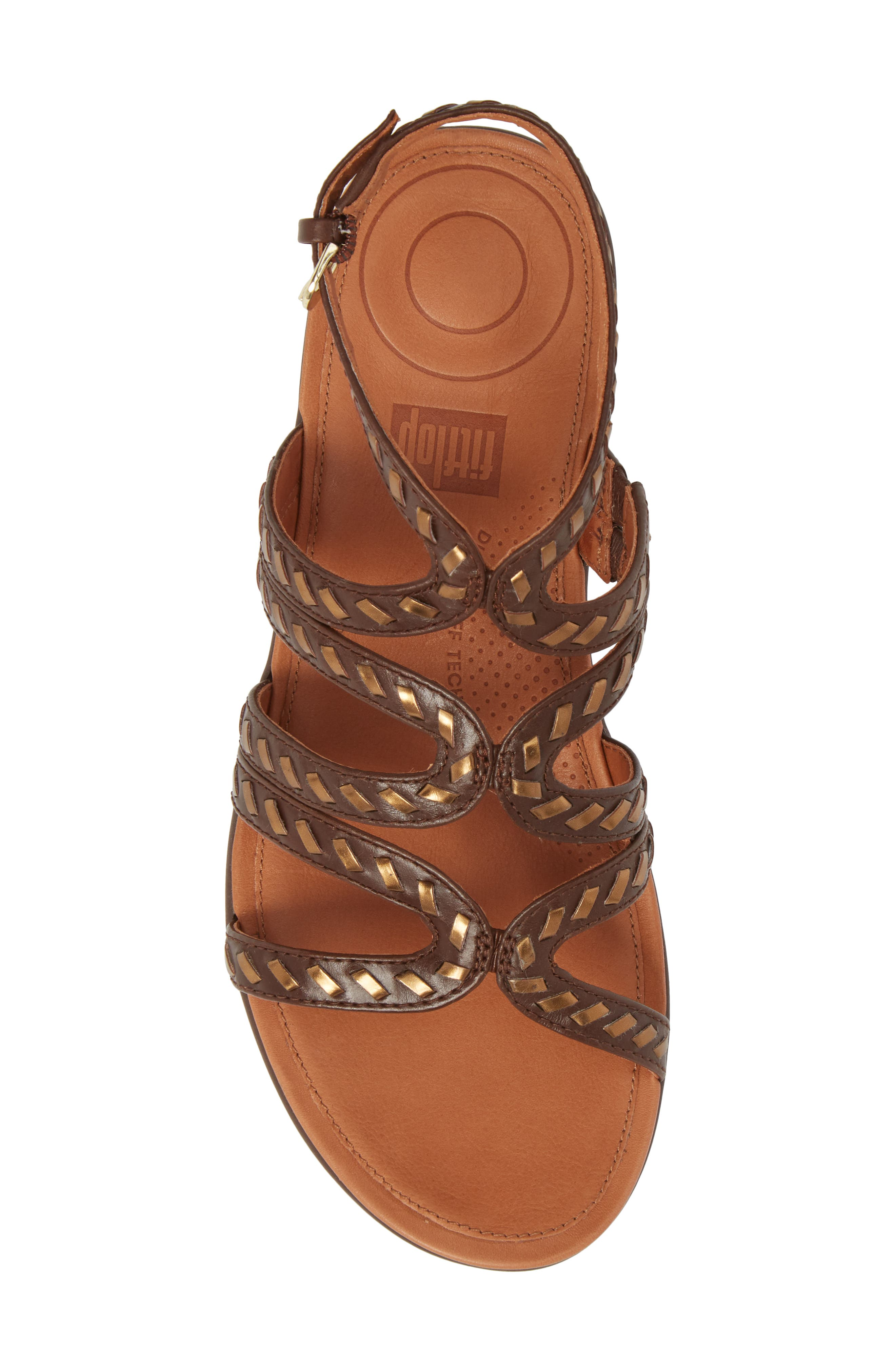 Strata Gladiator Sandal,                             Alternate thumbnail 5, color,                             200