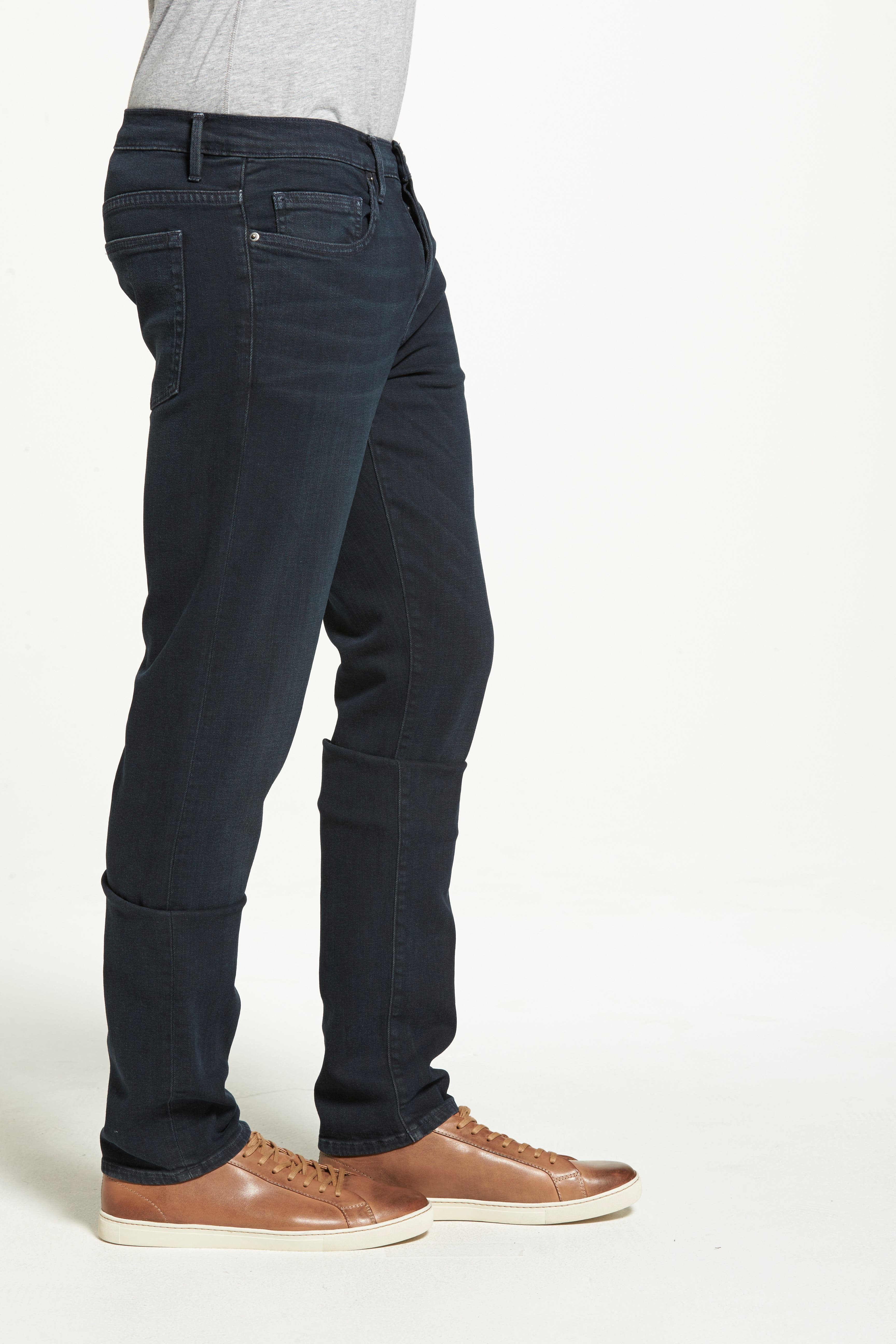 'L'Homme' Slim Fit Jeans,                             Alternate thumbnail 9, color,                             PLACID