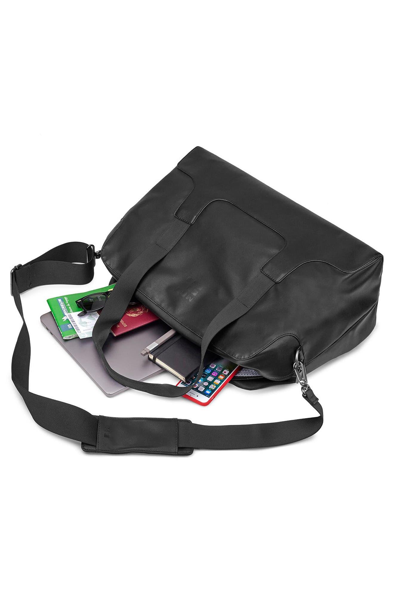Classic Duffel Bag,                             Alternate thumbnail 5, color,                             BLACK