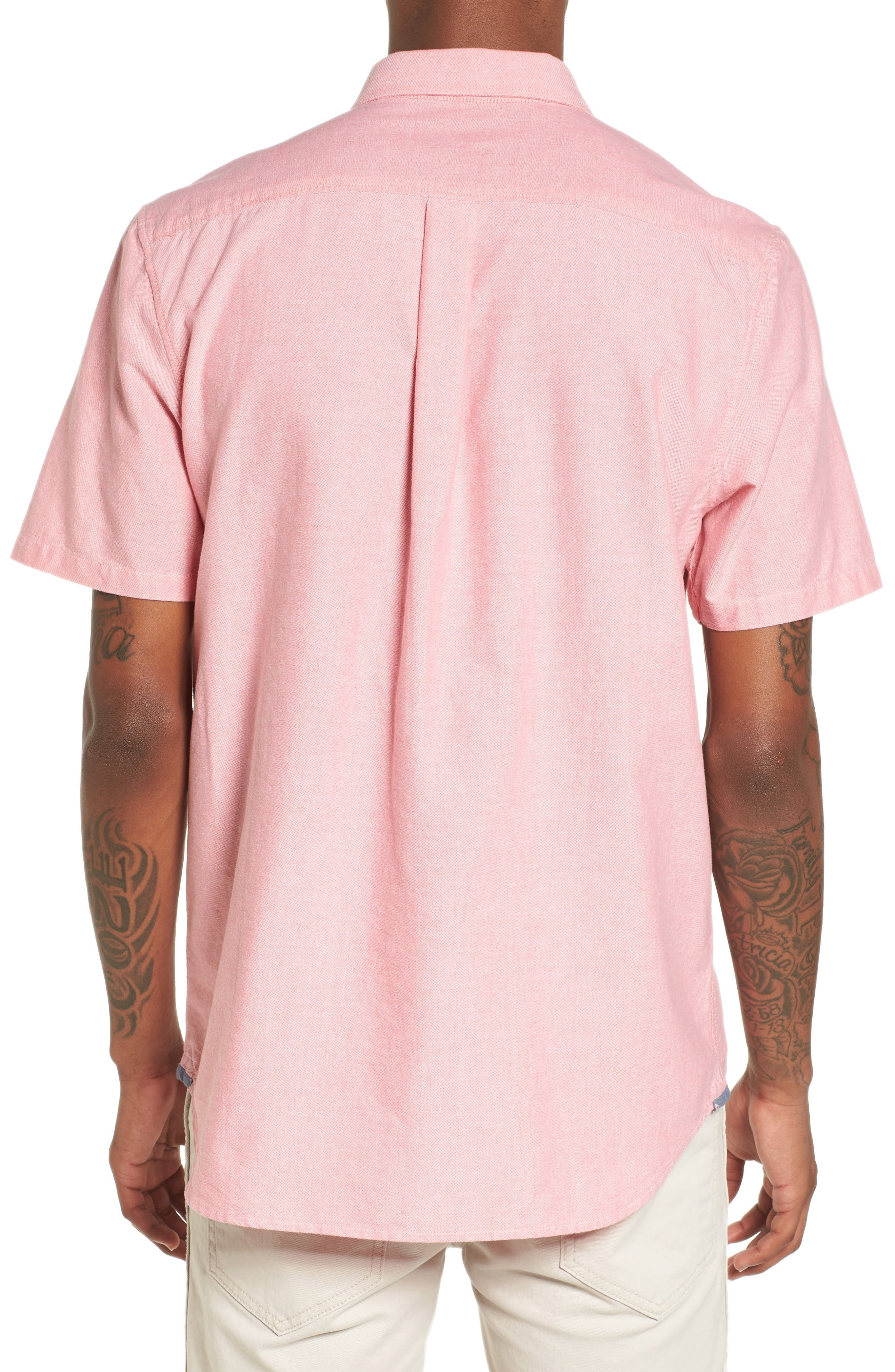 Houser Solid Woven Shirt,                             Alternate thumbnail 2, color,