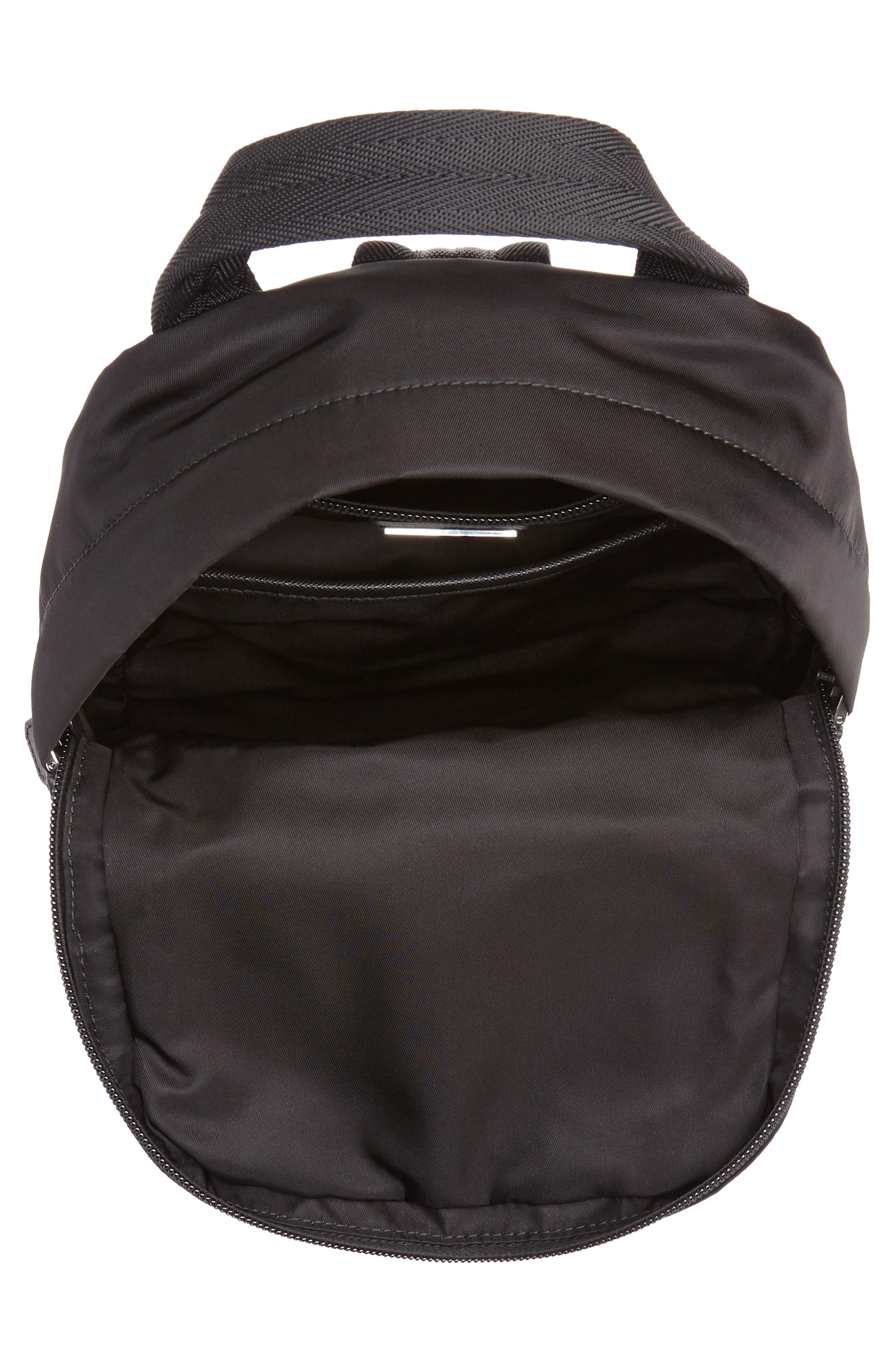Tessuto Small Sling Bag,                             Alternate thumbnail 4, color,                             BLACK