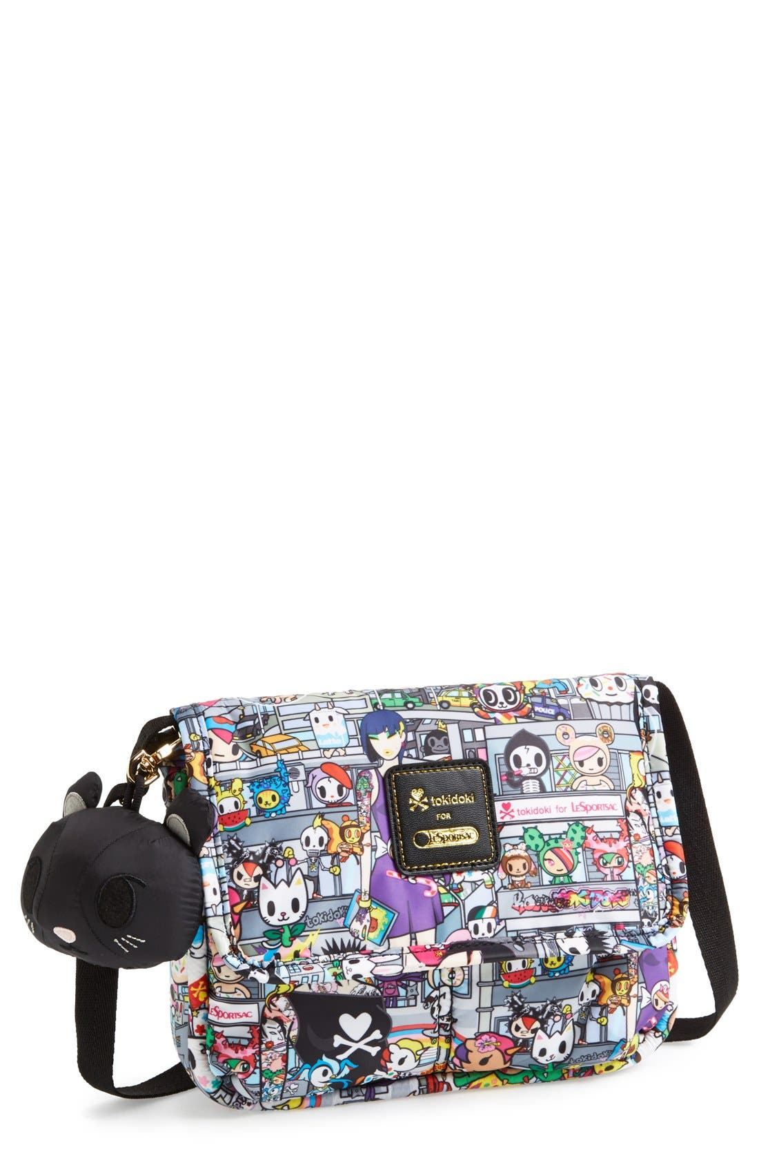 LESPORTSAC tokidoki x LeSportsac 'Gelatto' Crossbody Bag, Main, color, 020