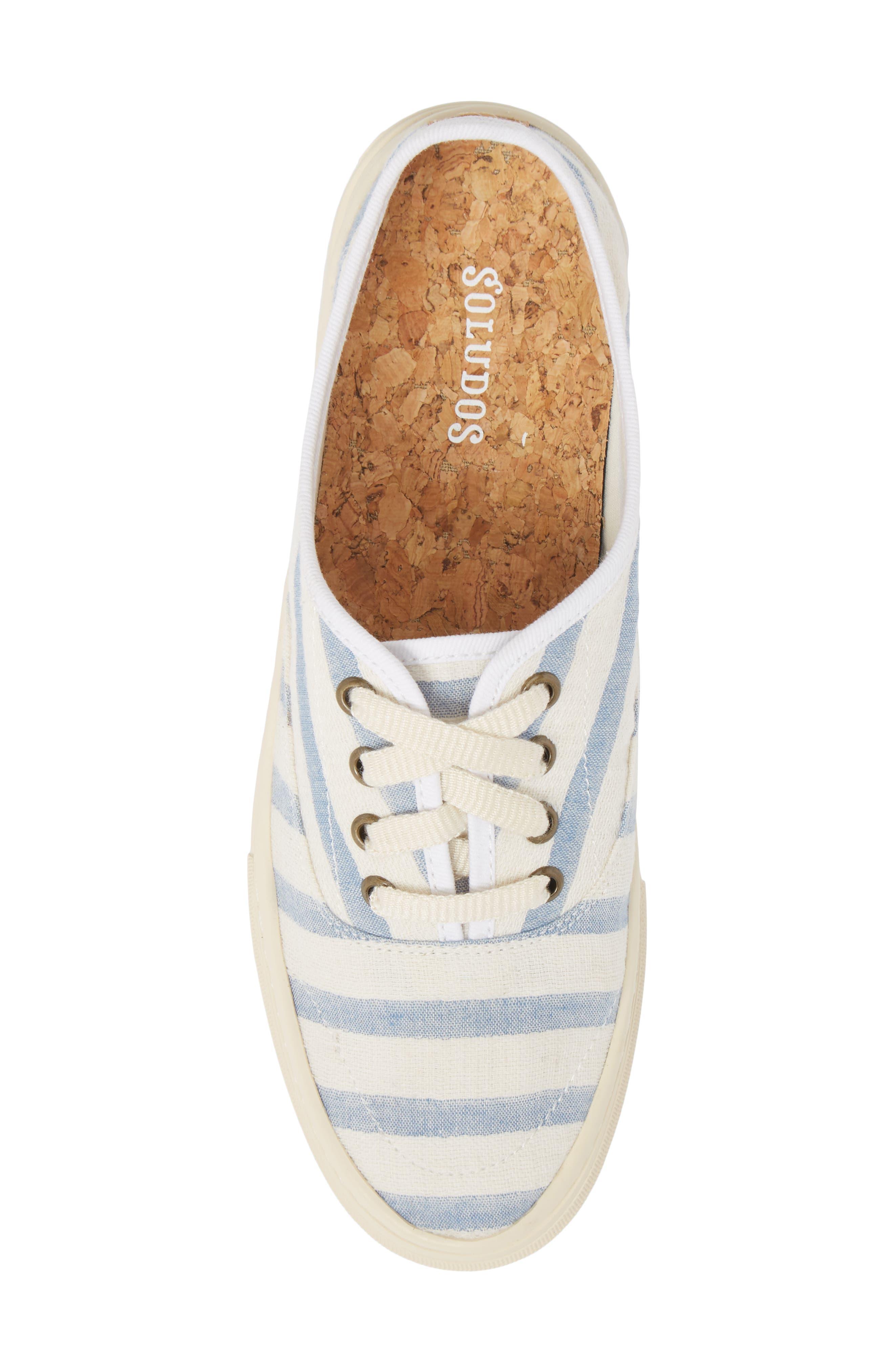 Platform Stripe Sneaker,                             Alternate thumbnail 5, color,