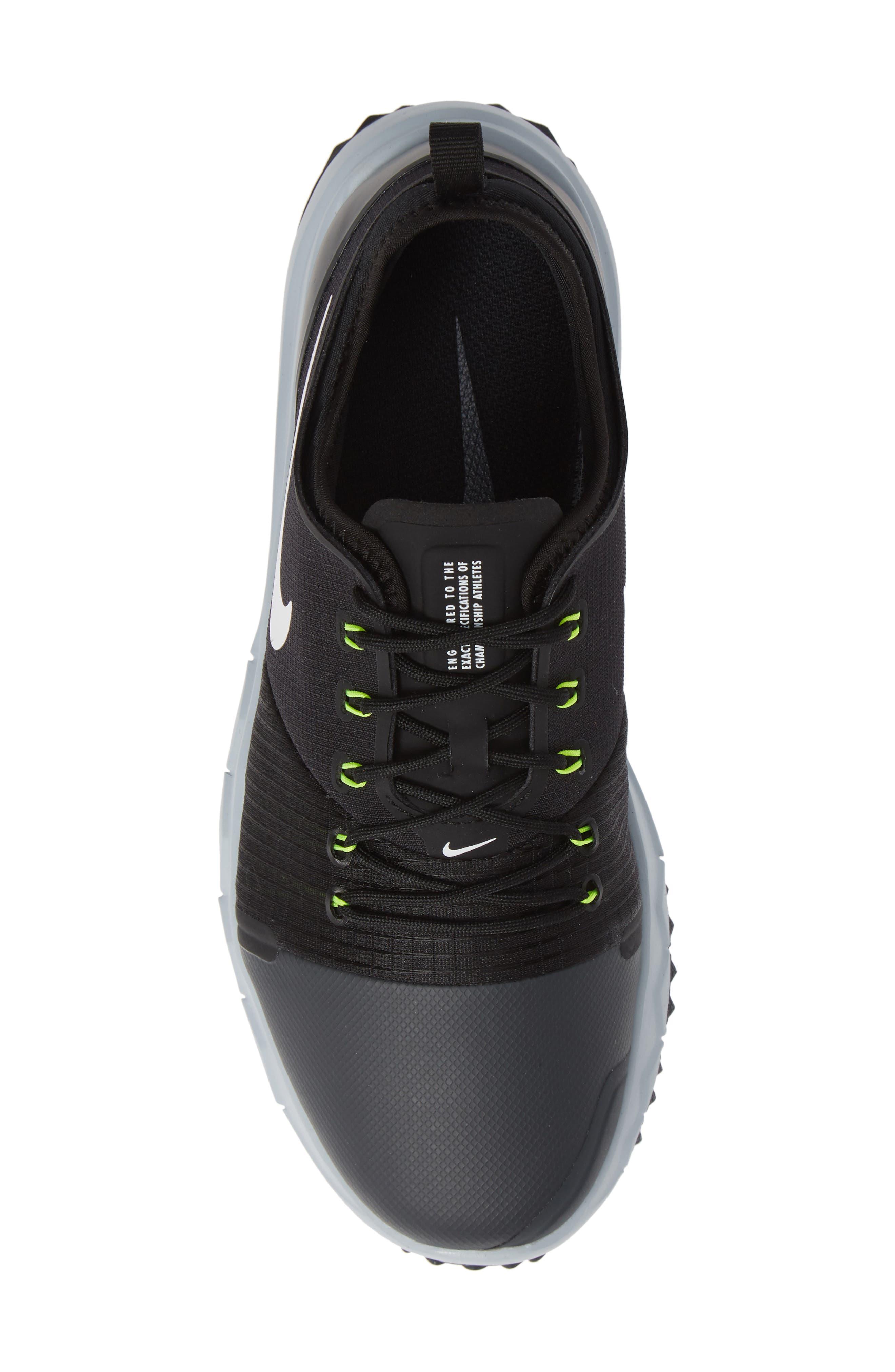 FI Impact 3 Waterproof Golf Shoe,                             Alternate thumbnail 5, color,                             ANTHRACITE/ WHITE/ BLACK/ GREY