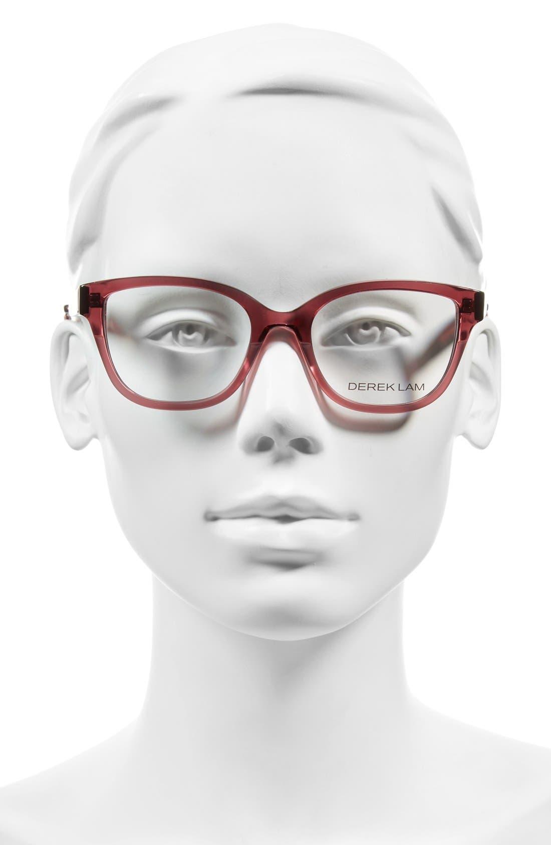 DEREK LAM,                             50mm Optical Glasses,                             Alternate thumbnail 2, color,                             651