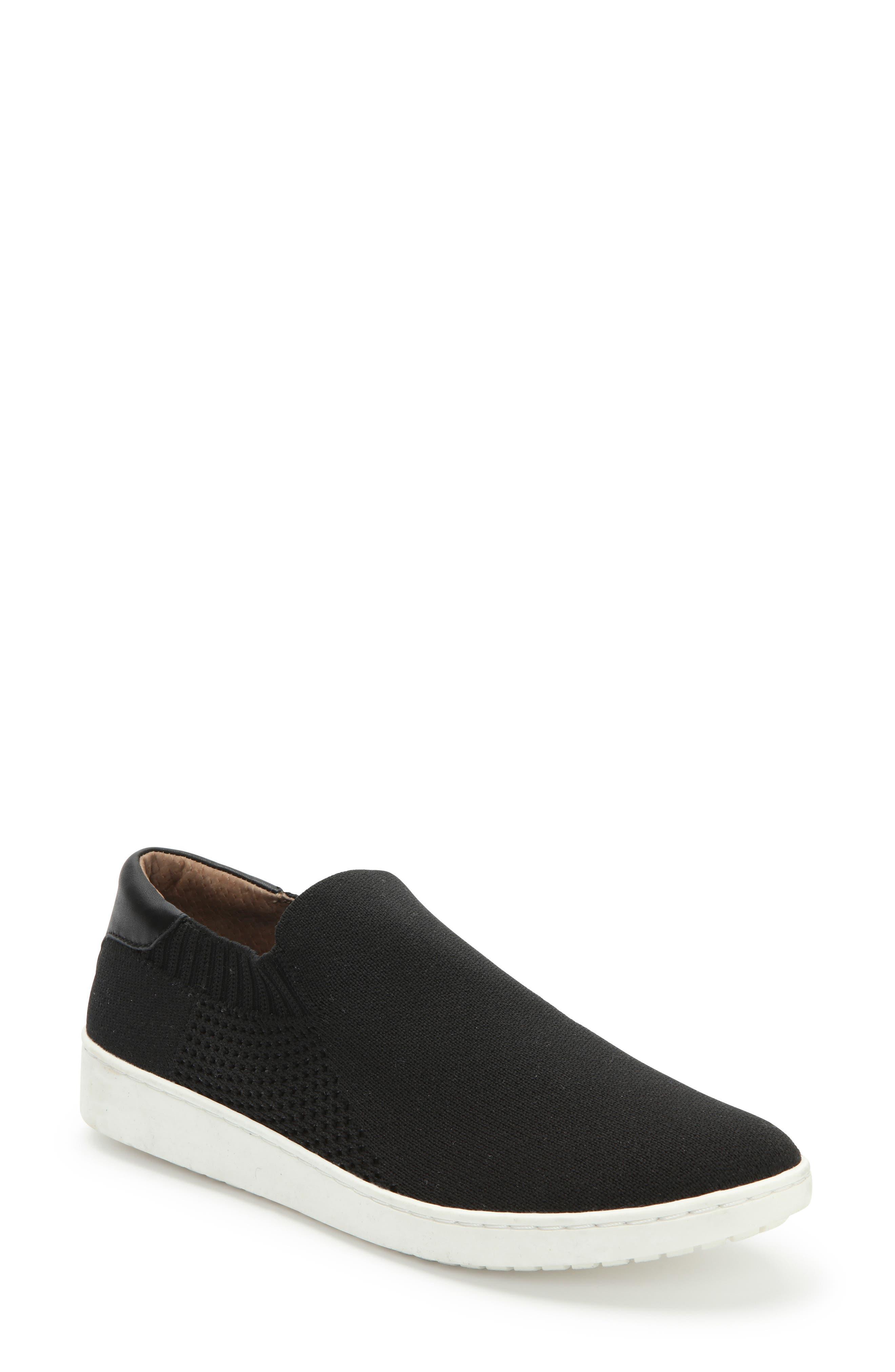 ADAM TUCKER BY ME TOO,                             Adam Tucker Romy Slip-On Sneaker,                             Main thumbnail 1, color,                             BLACK FABRIC
