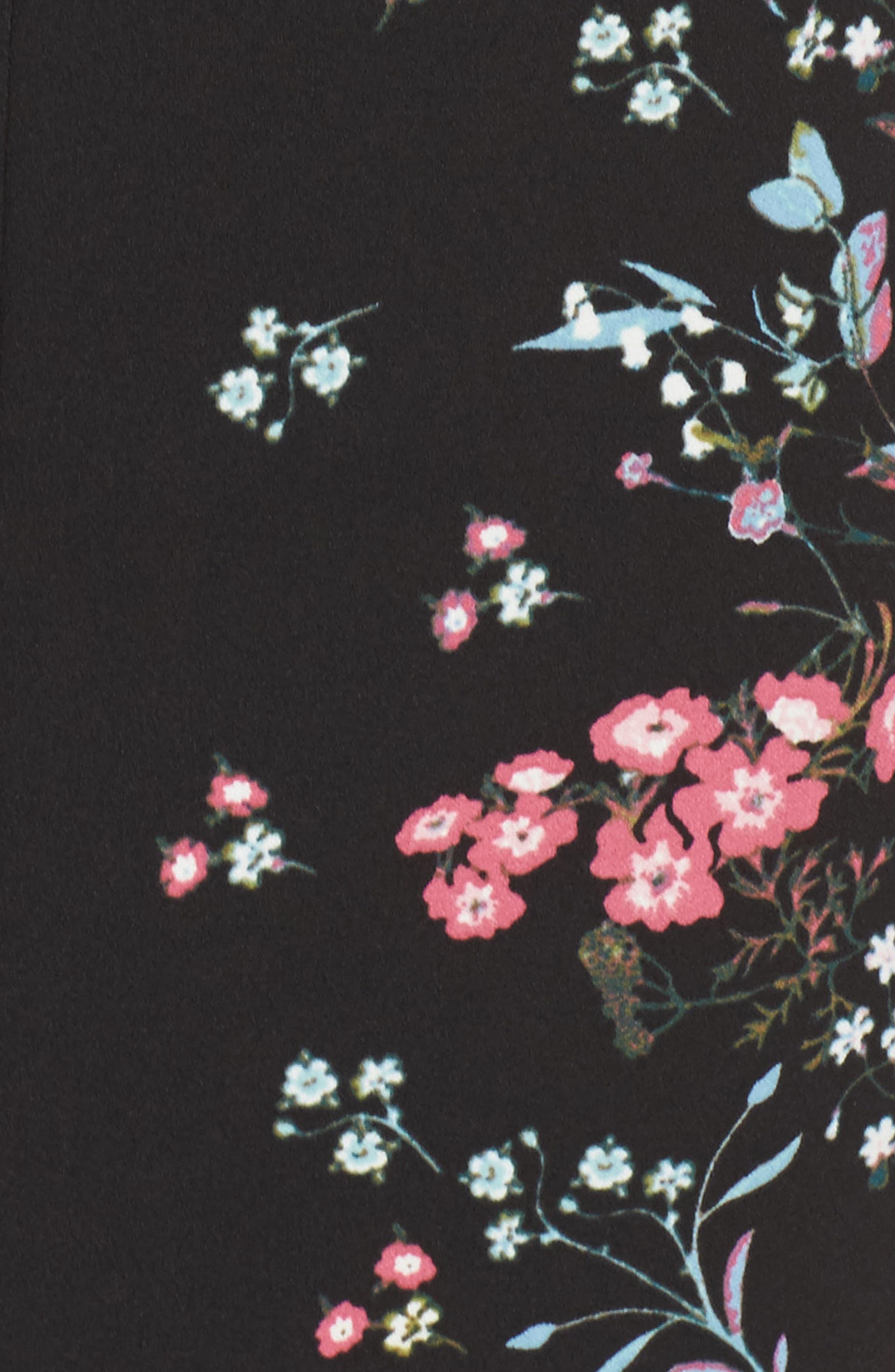 Print Sheath Dress,                             Alternate thumbnail 5, color,                             003