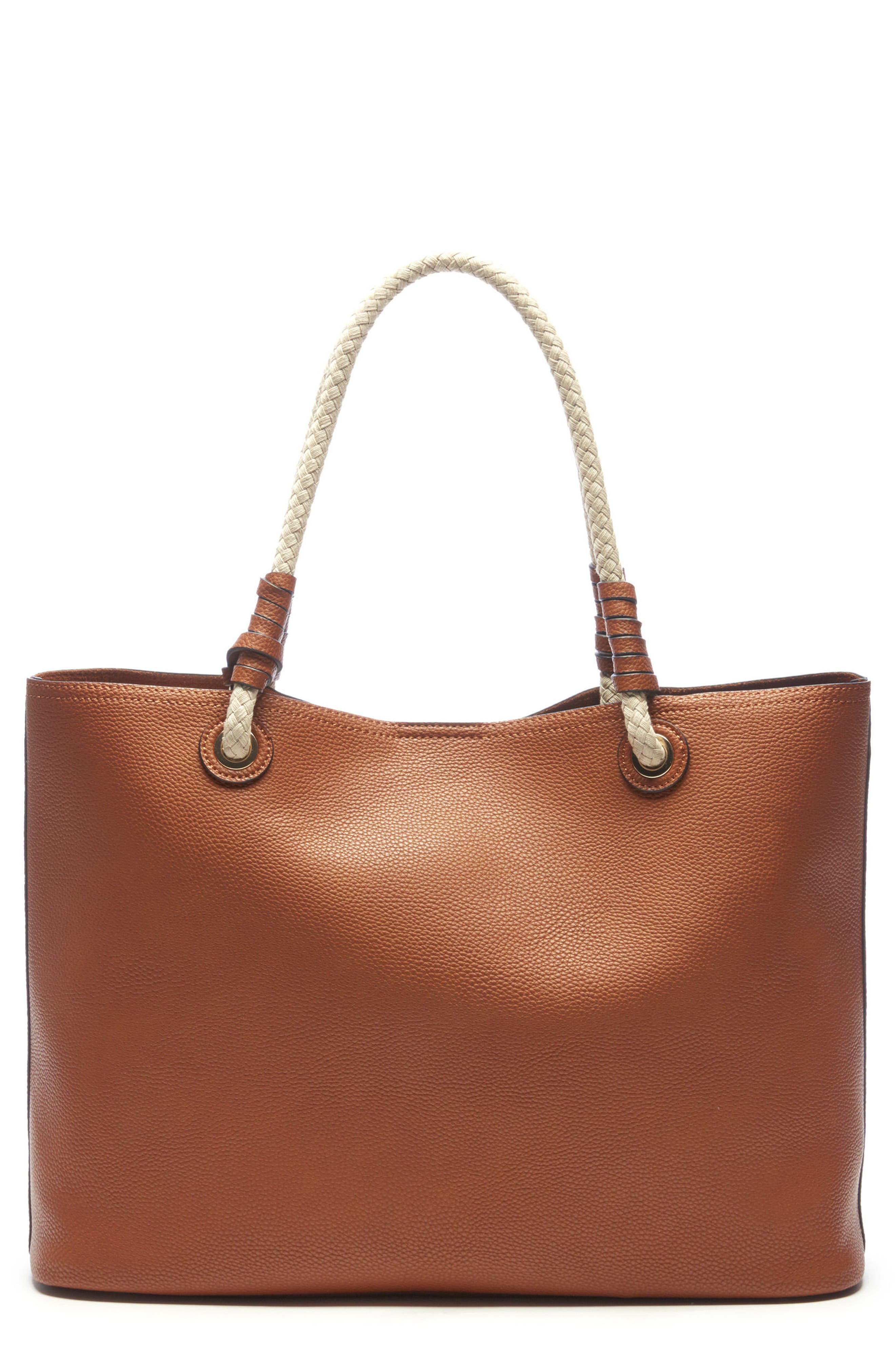 Faux Leather Oversize Tote,                             Main thumbnail 1, color,                             230