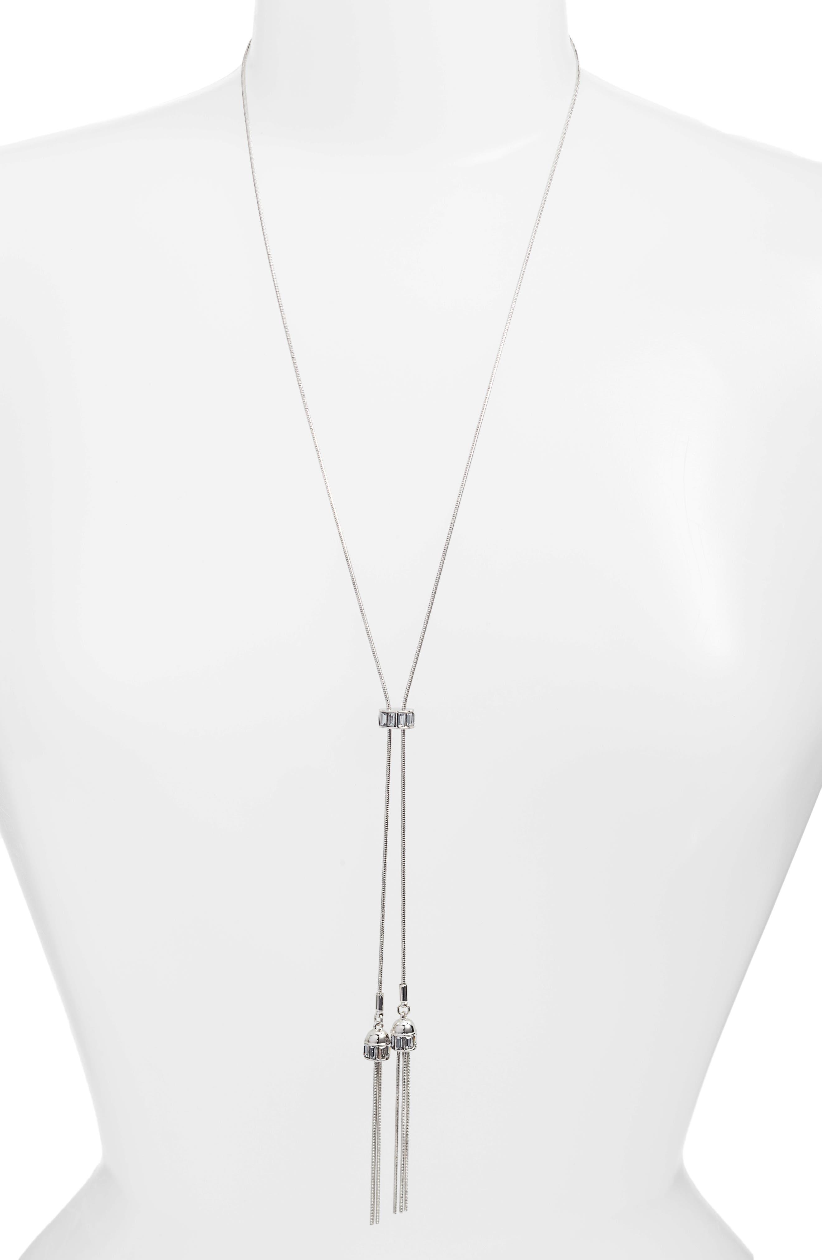 Long Pendant Necklace,                         Main,                         color, 040