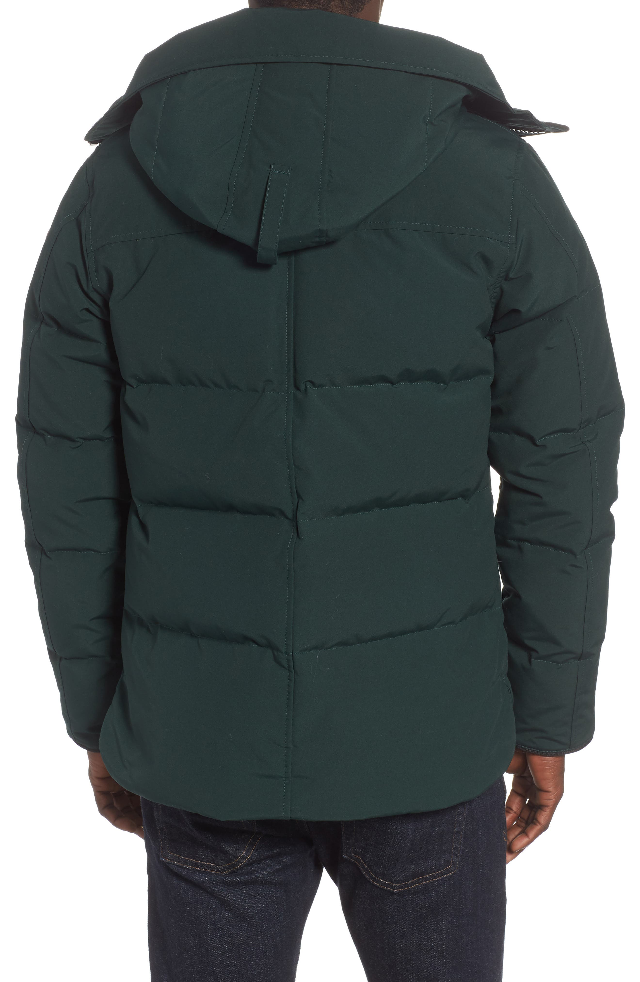 'MacMillan' Slim Fit Hooded Parka,                             Alternate thumbnail 2, color,                             SPRUCE
