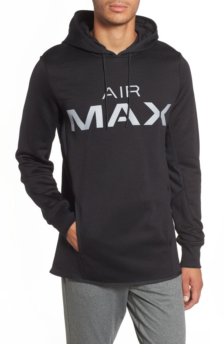 outlet online on feet shots of latest trends Nsw Air Max Hoodie in Black/ Wolf Grey