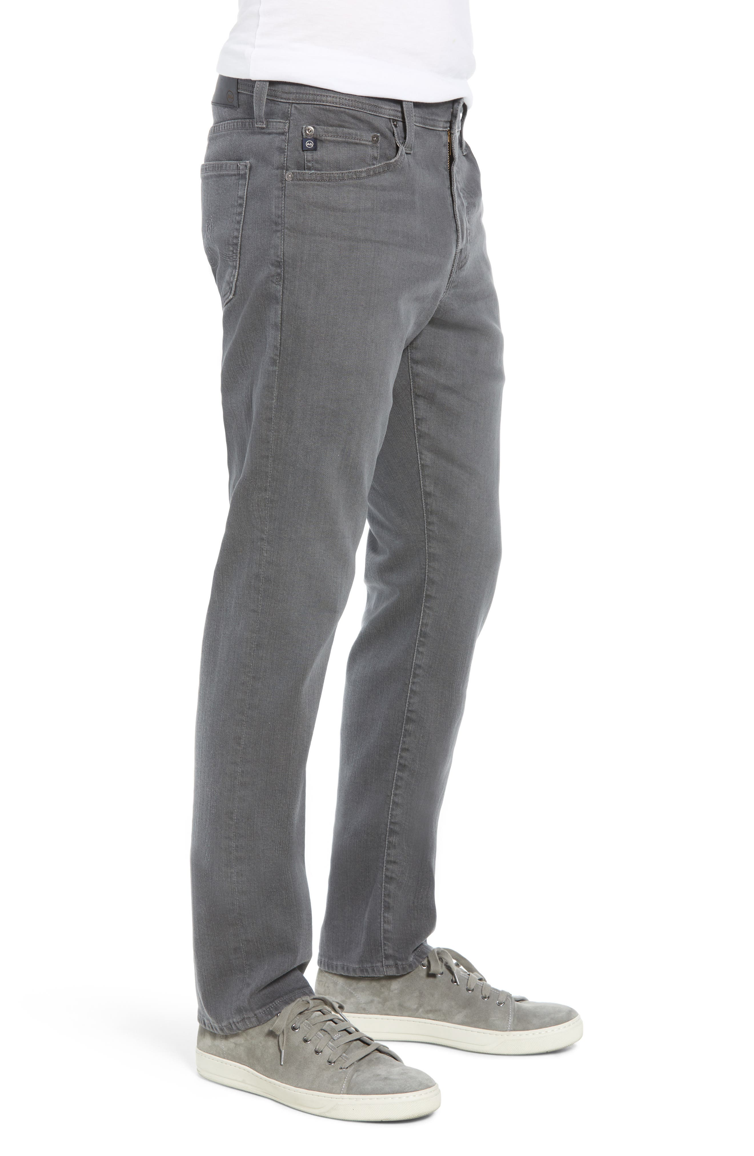 Everett Slim Straight Leg Jeans,                             Alternate thumbnail 3, color,                             PASSENGER