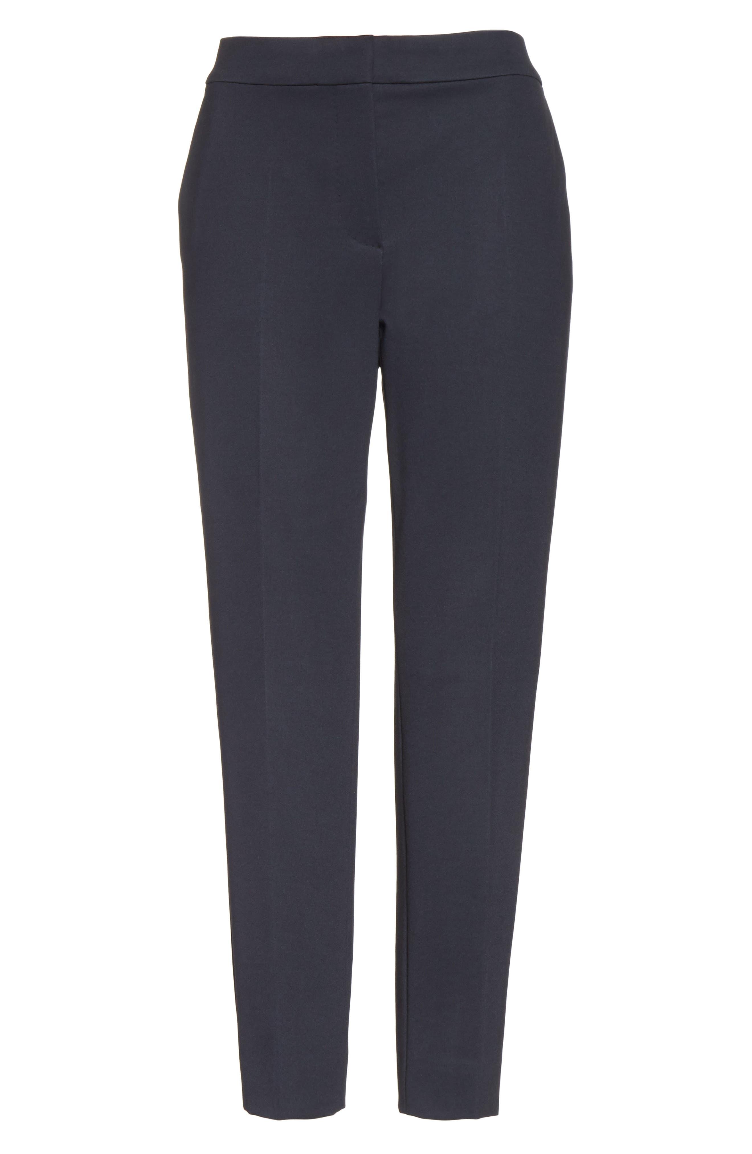 Pegno Jersey Crop Pants,                             Alternate thumbnail 6, color,                             411