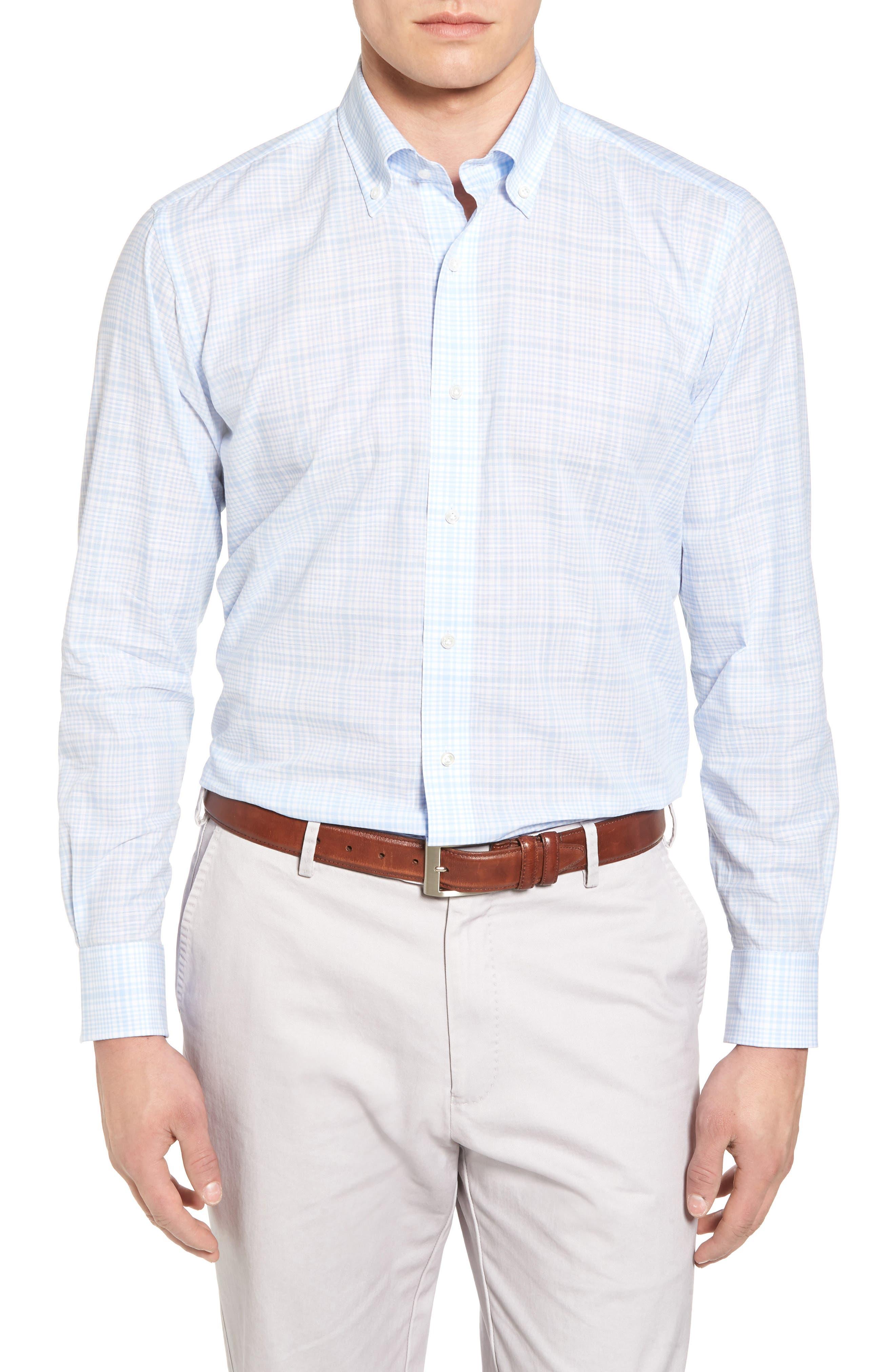 Laguna Plaid Sport Shirt,                         Main,                         color, 433