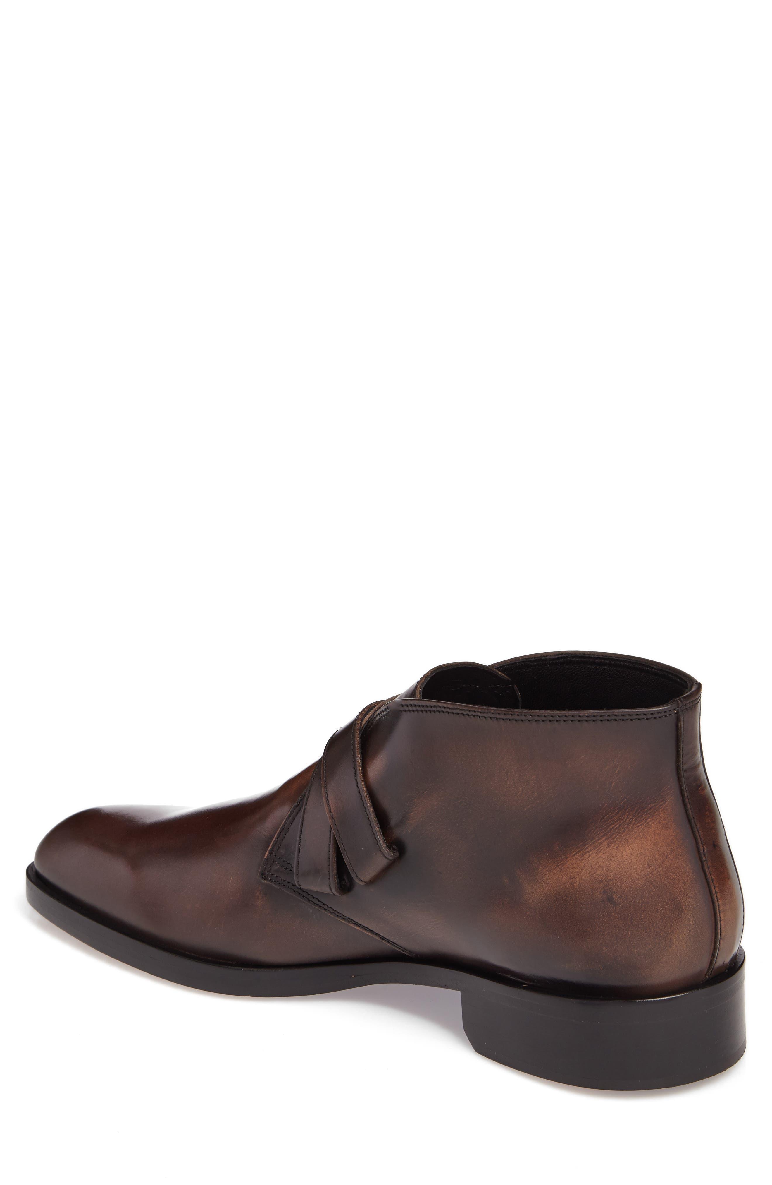 Donald J Pliner Zigor Double Monk Strap Boot,                             Alternate thumbnail 2, color,                             200