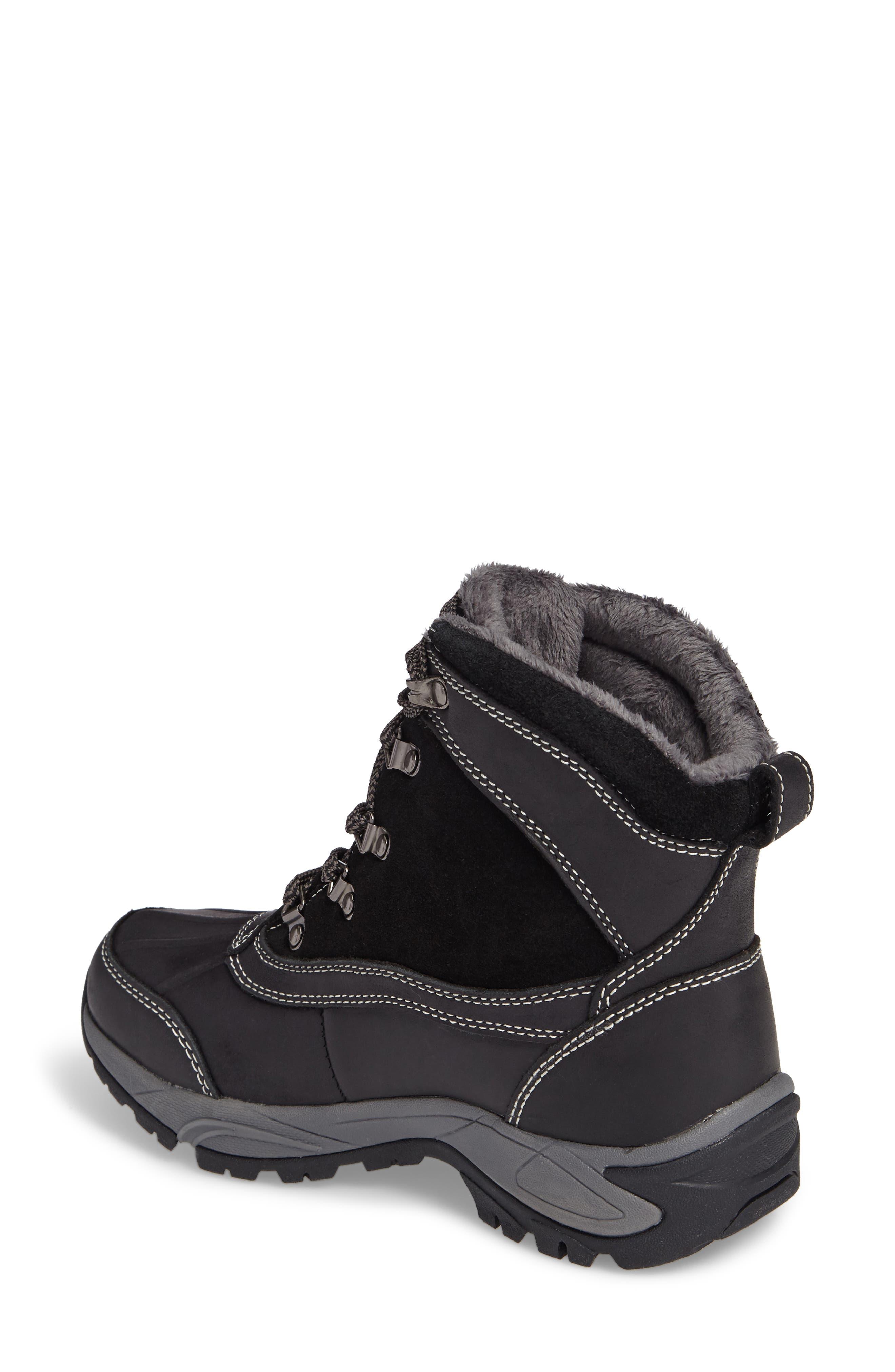 'Renee' Waterproof Insulated Winter Boot,                             Alternate thumbnail 2, color,                             001