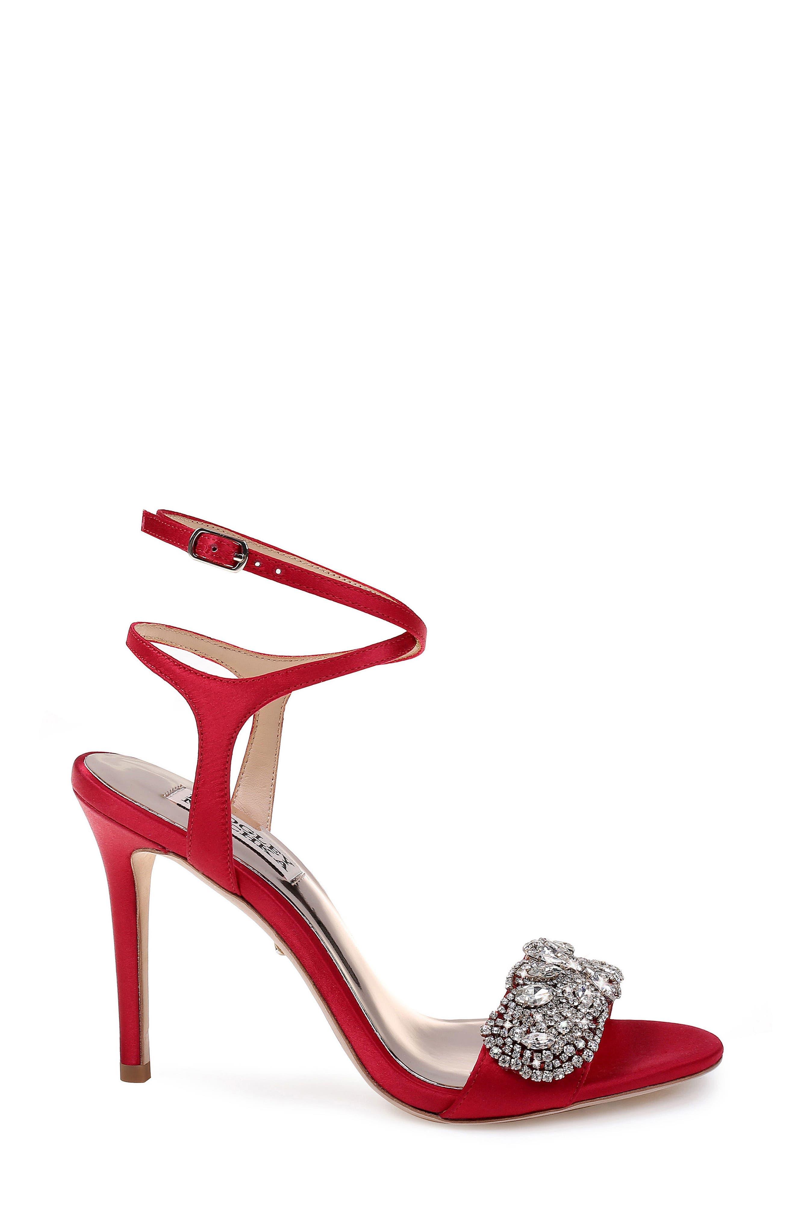Hailey Embellished Ankle Strap Sandal,                             Alternate thumbnail 16, color,