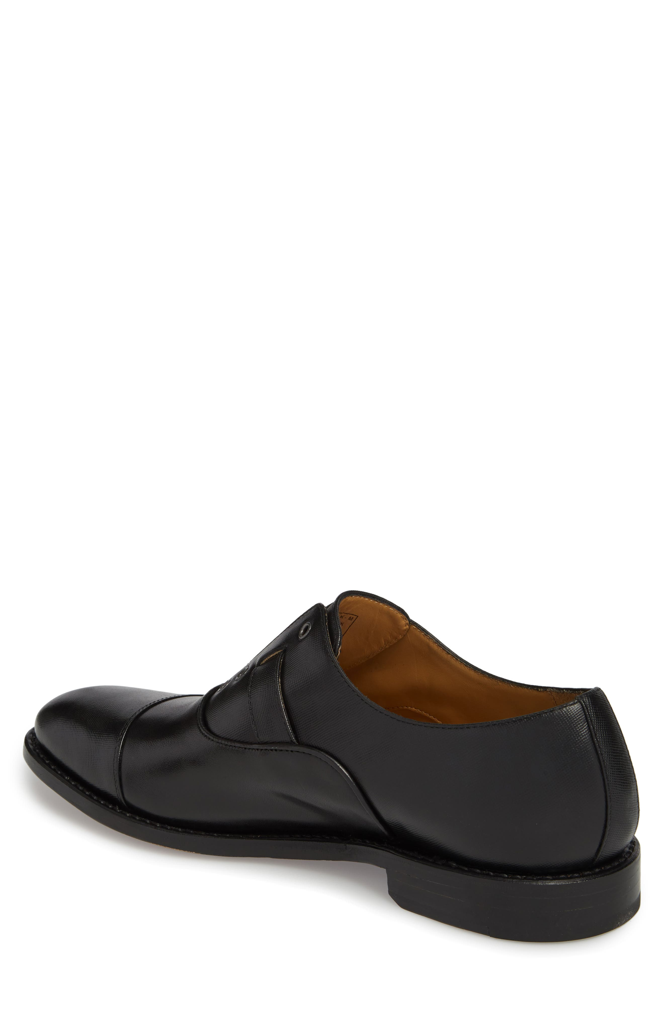 Brandon Cap Toe Oxford,                             Alternate thumbnail 2, color,                             001