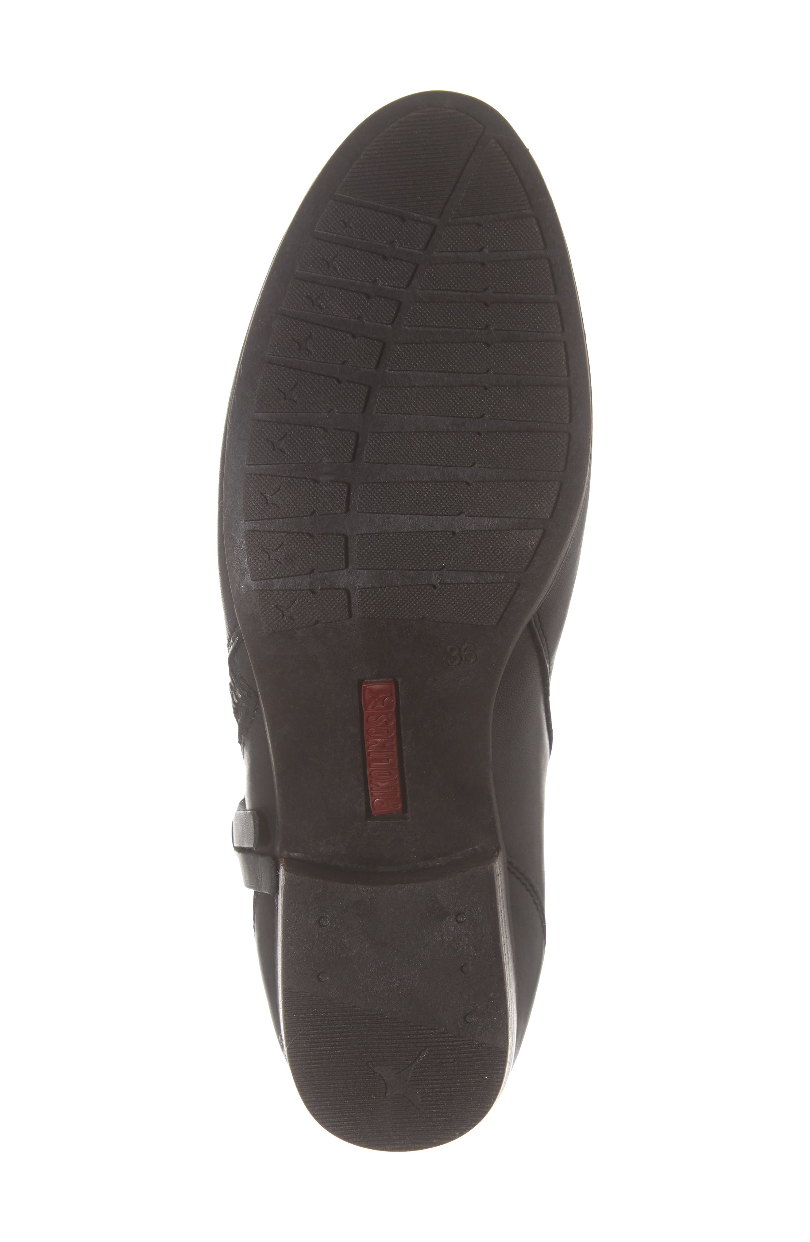 Daroca Bootie,                             Alternate thumbnail 6, color,                             BLACK LEATHER