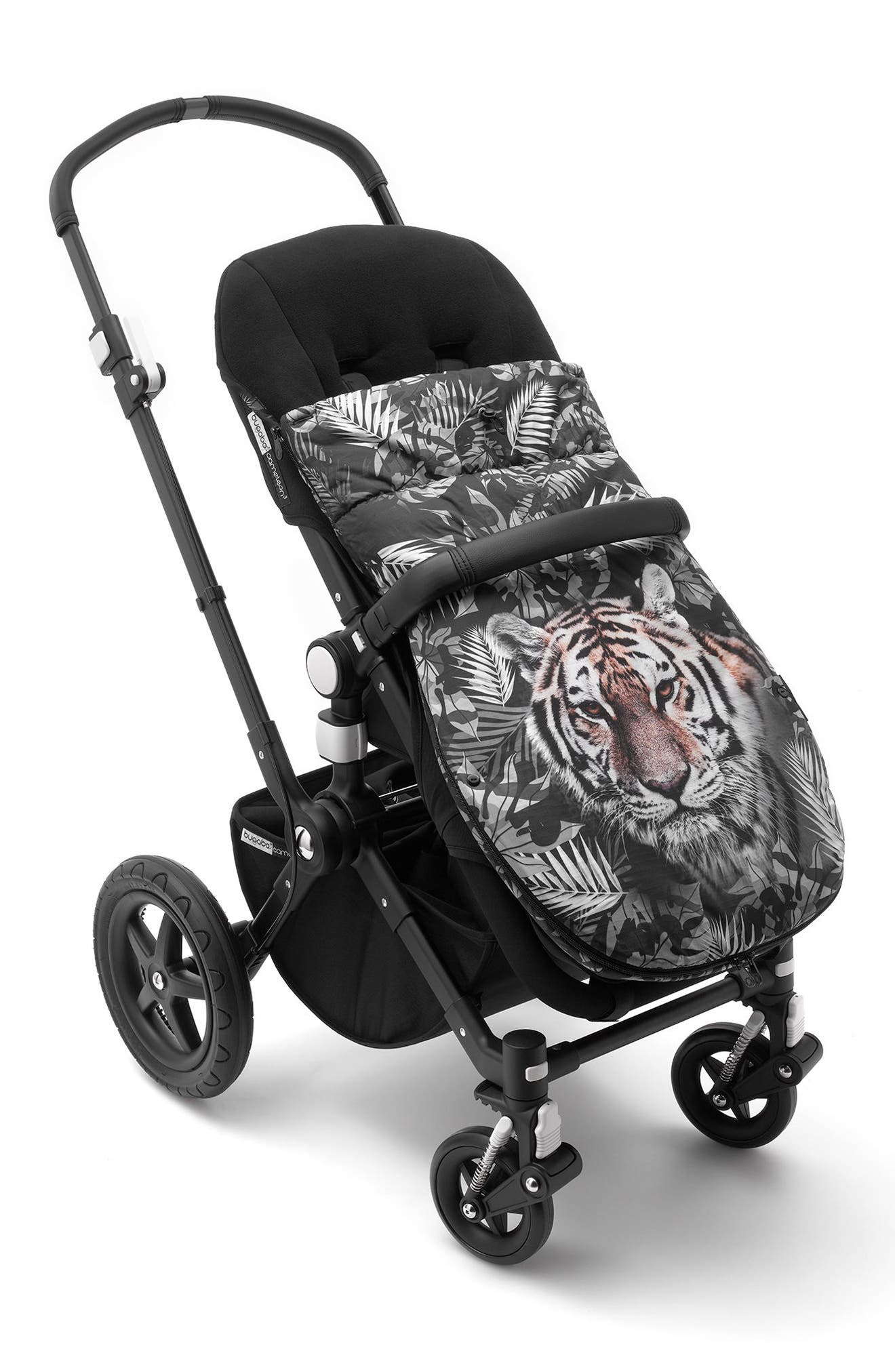 x We Are Handsome Limited Edition Footmuff for Bugaboo Strollers,                             Alternate thumbnail 2, color,                             PRINTS