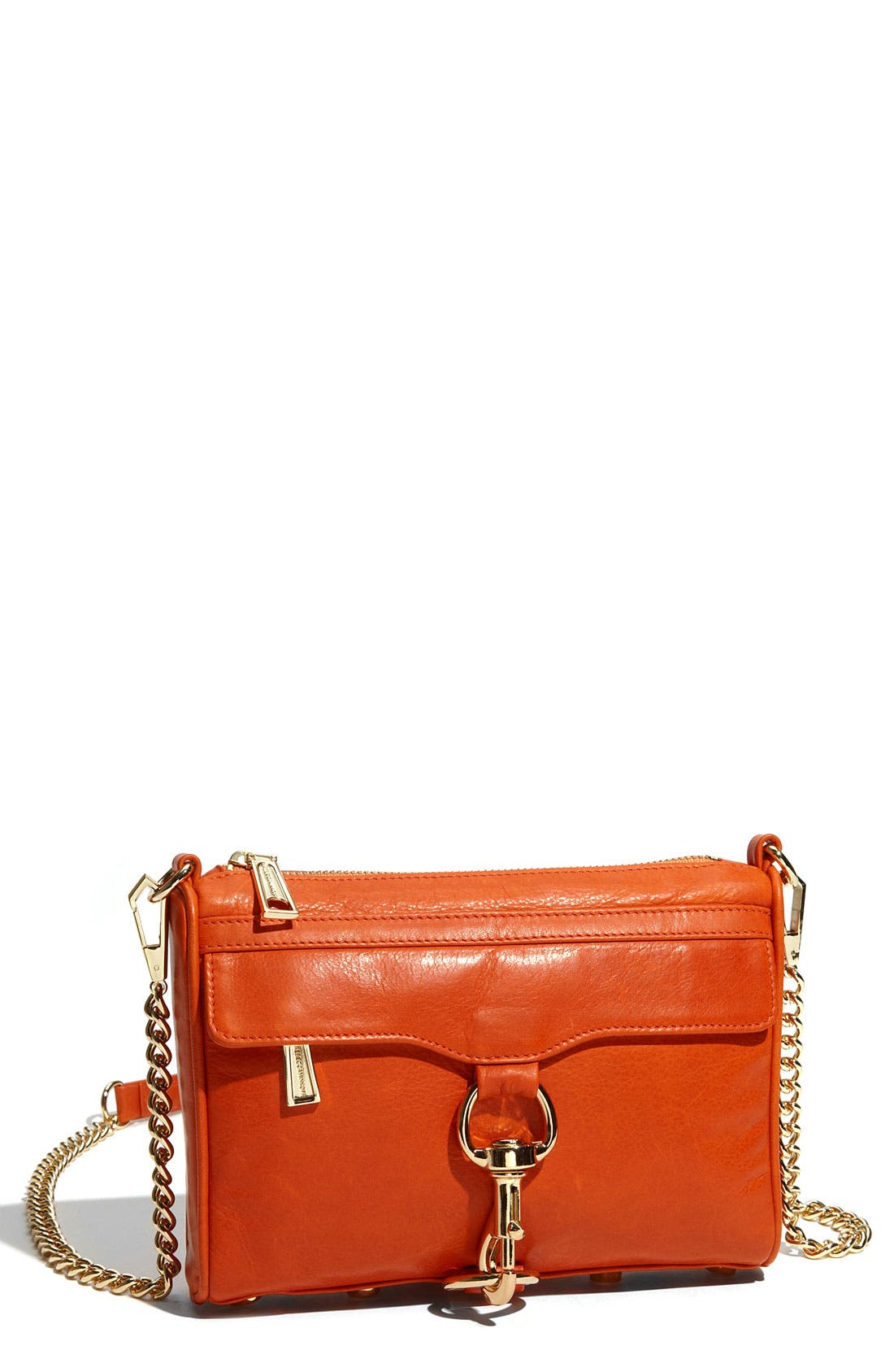 'Mini MAC' Croc Embossed Convertible Crossbody Bag,                             Main thumbnail 18, color,