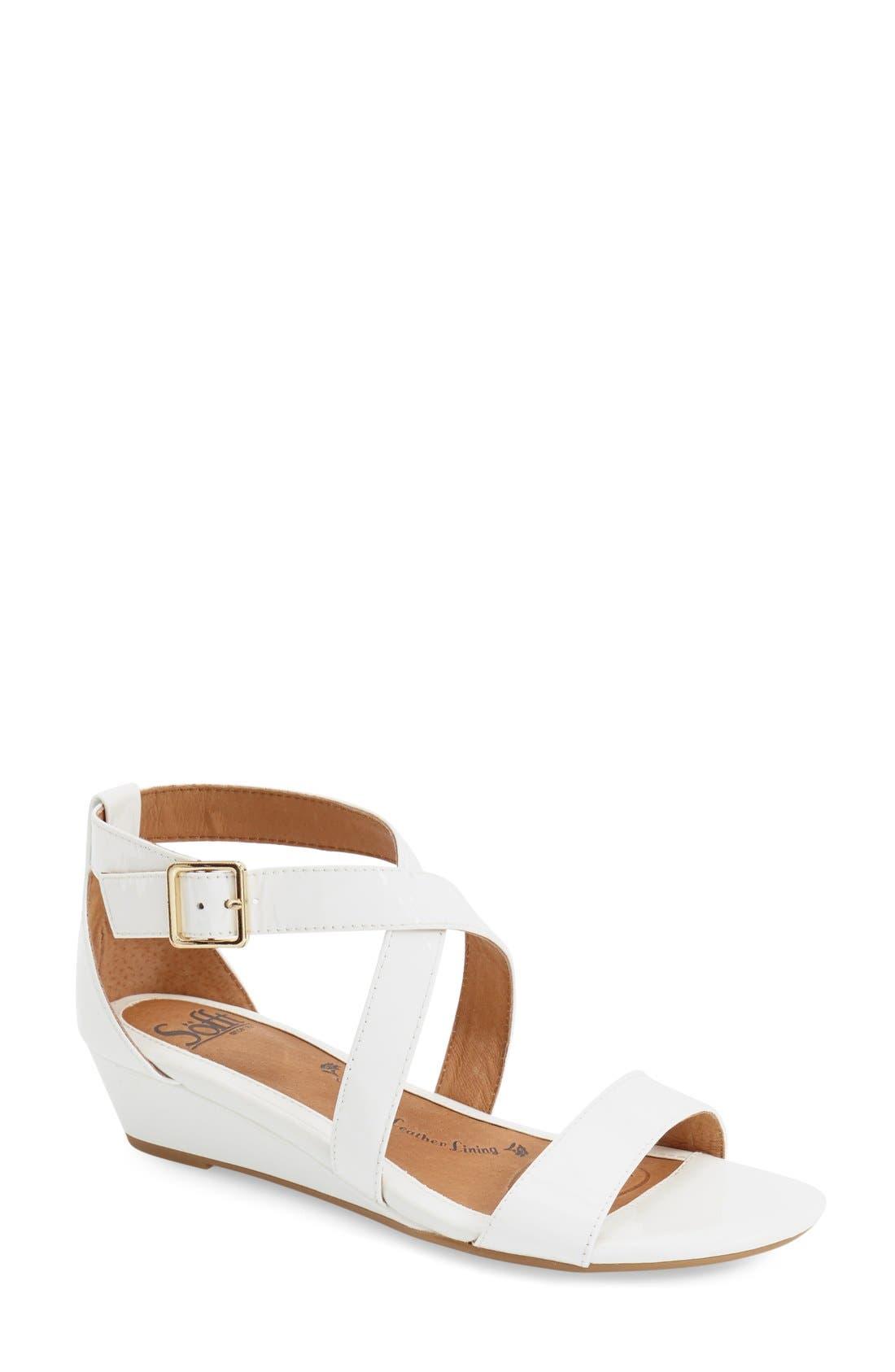 'Innis' Low Wedge Sandal,                             Main thumbnail 7, color,