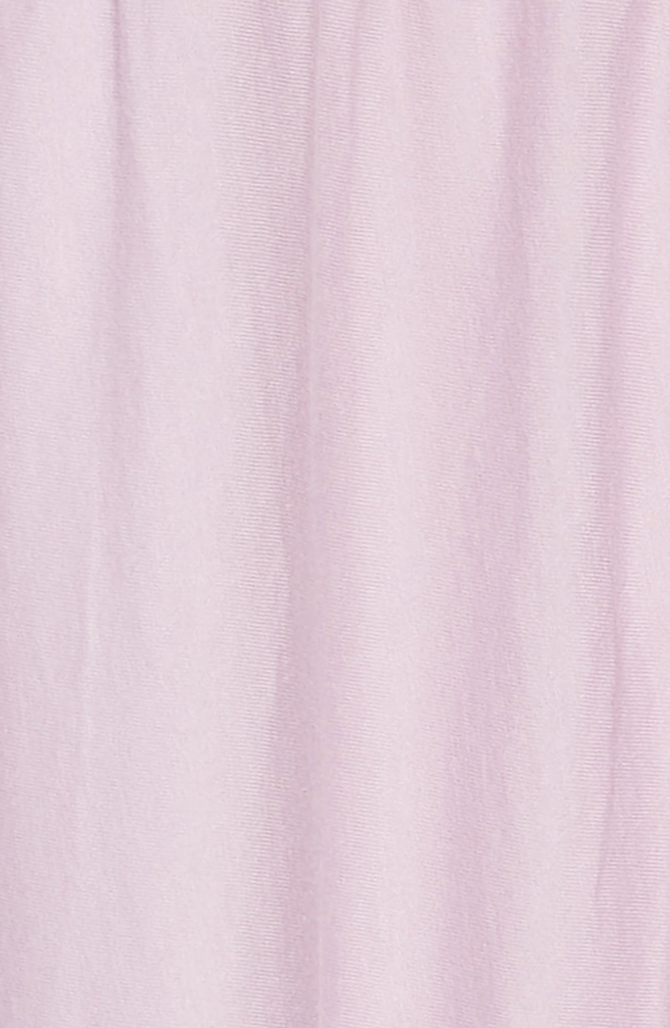 Flutter Sleeve Dress,                             Alternate thumbnail 3, color,                             SMOKY WISTERIA