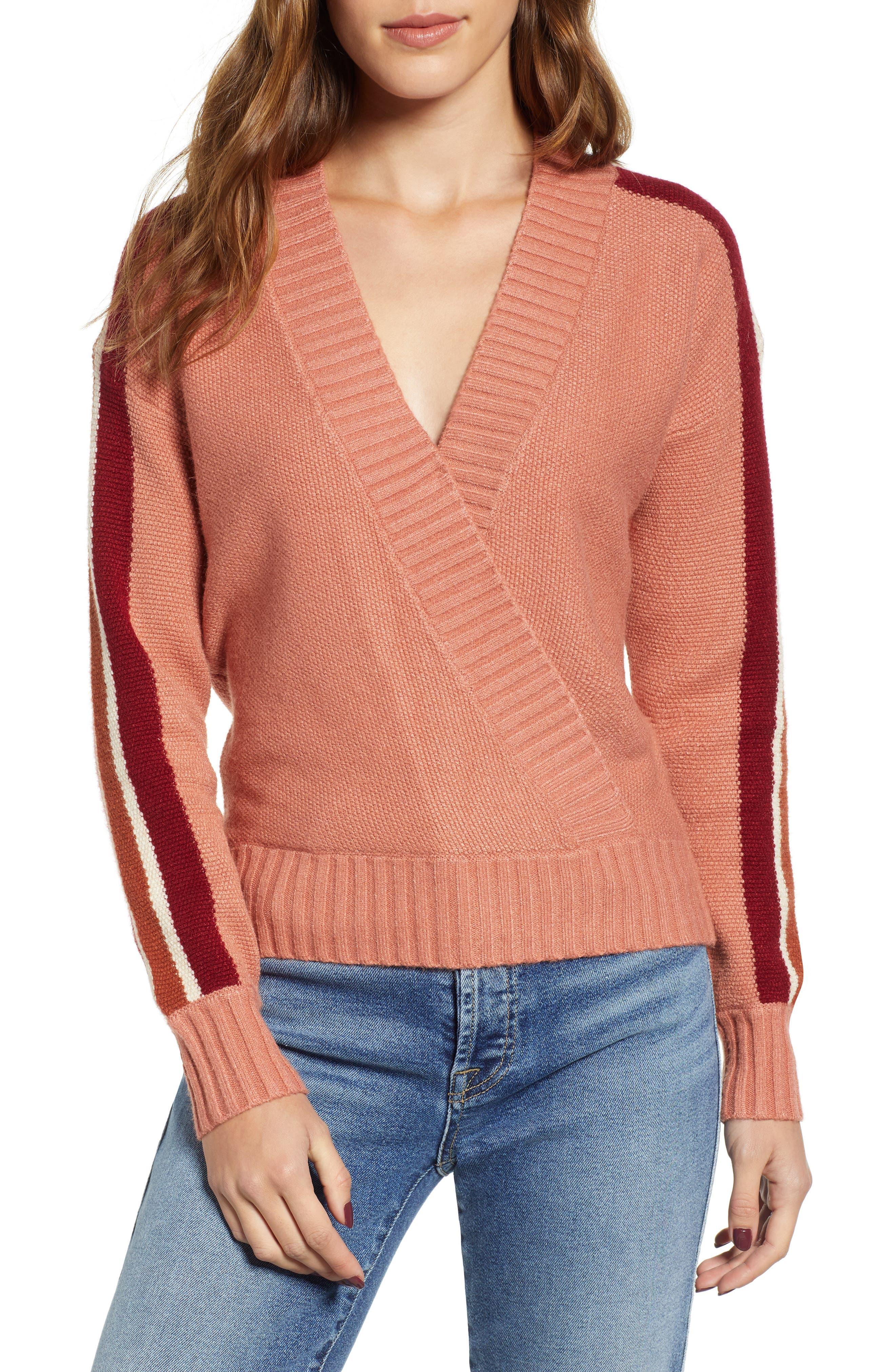 Heartloom Esme Sweater, Orange
