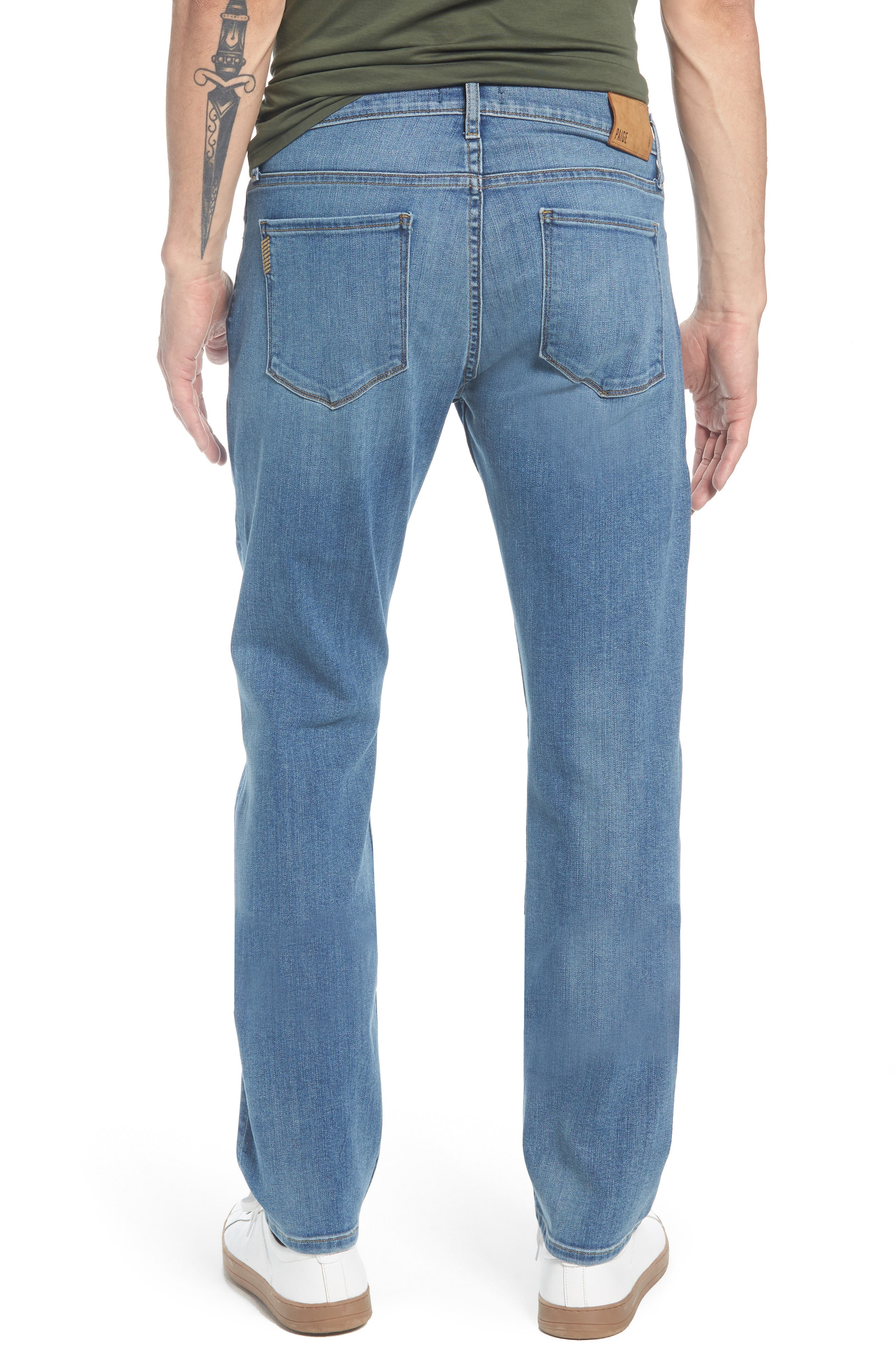PAIGE,                             Federal Slim Straight Leg Jeans,                             Alternate thumbnail 2, color,                             400