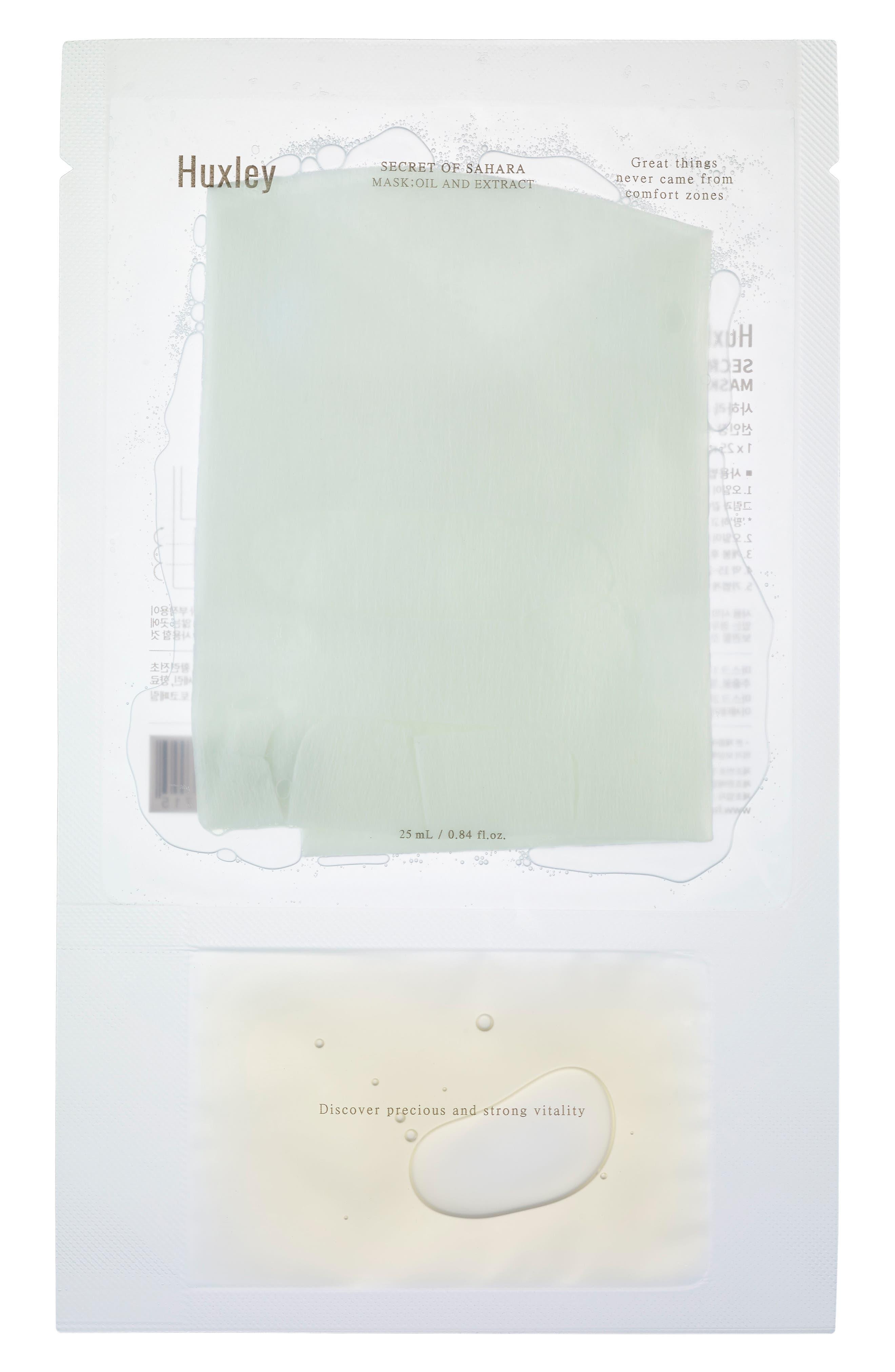 Secret of Sahara Sheet Mask Trio,                         Main,                         color, 000