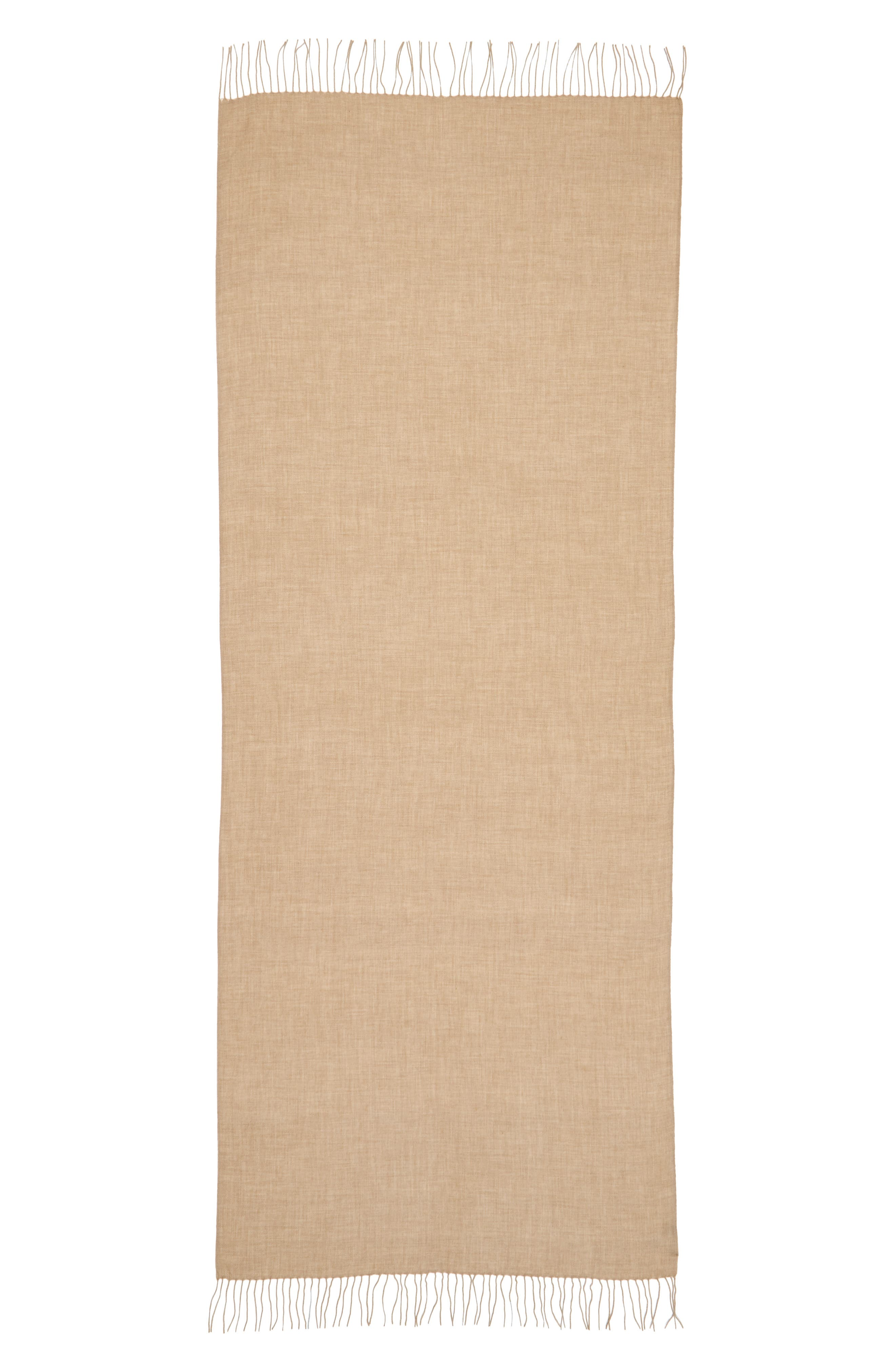Tissue Weight Wool & Cashmere Scarf,                             Alternate thumbnail 95, color,