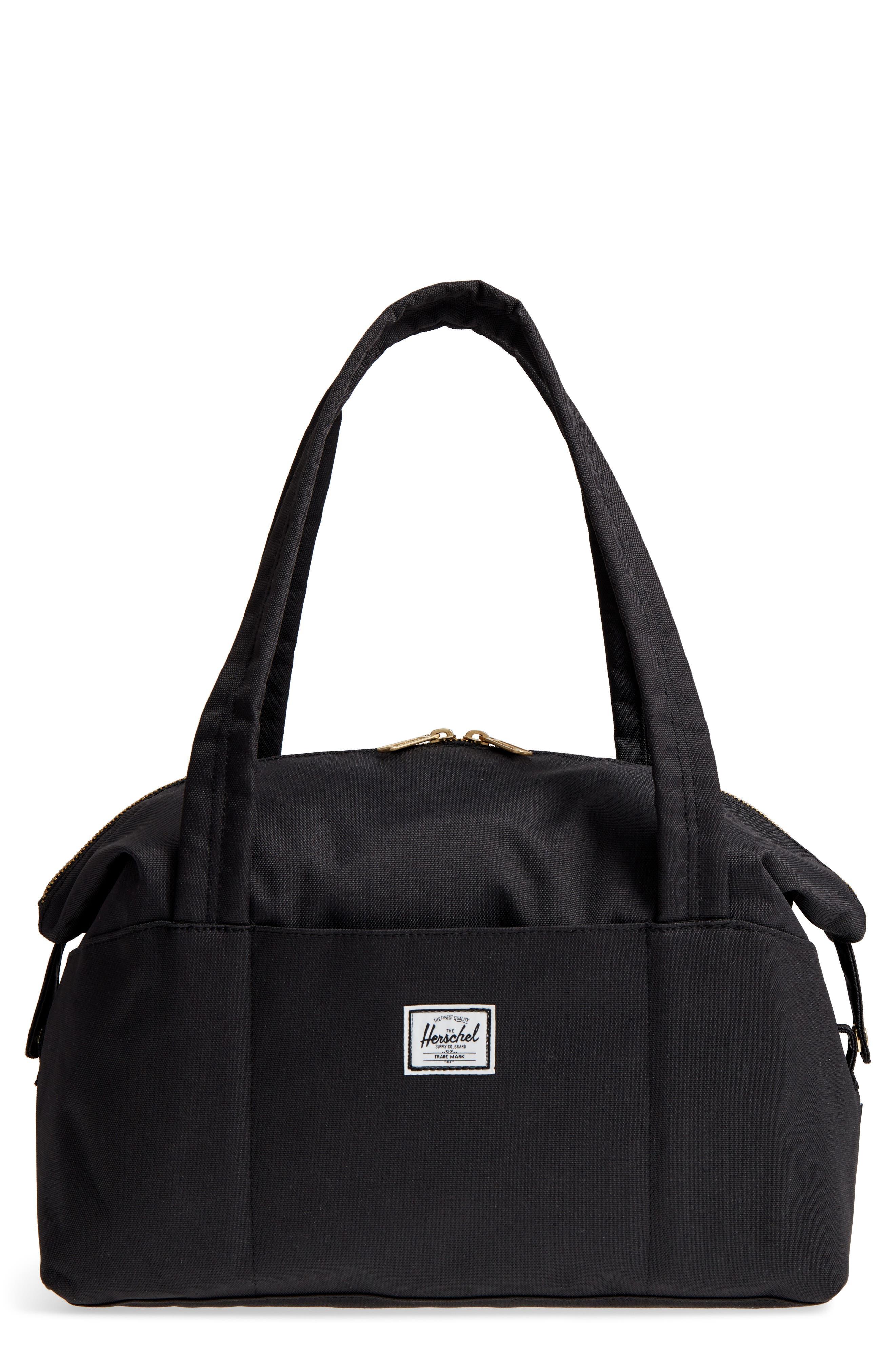 Extra Small Strand Duffel Bag,                             Main thumbnail 1, color,                             BLACK