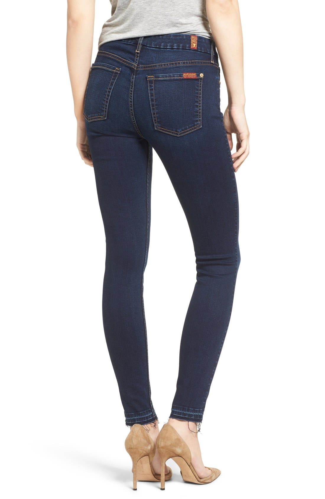 b(air) Ankle Skinny Jeans,                             Alternate thumbnail 2, color,                             400