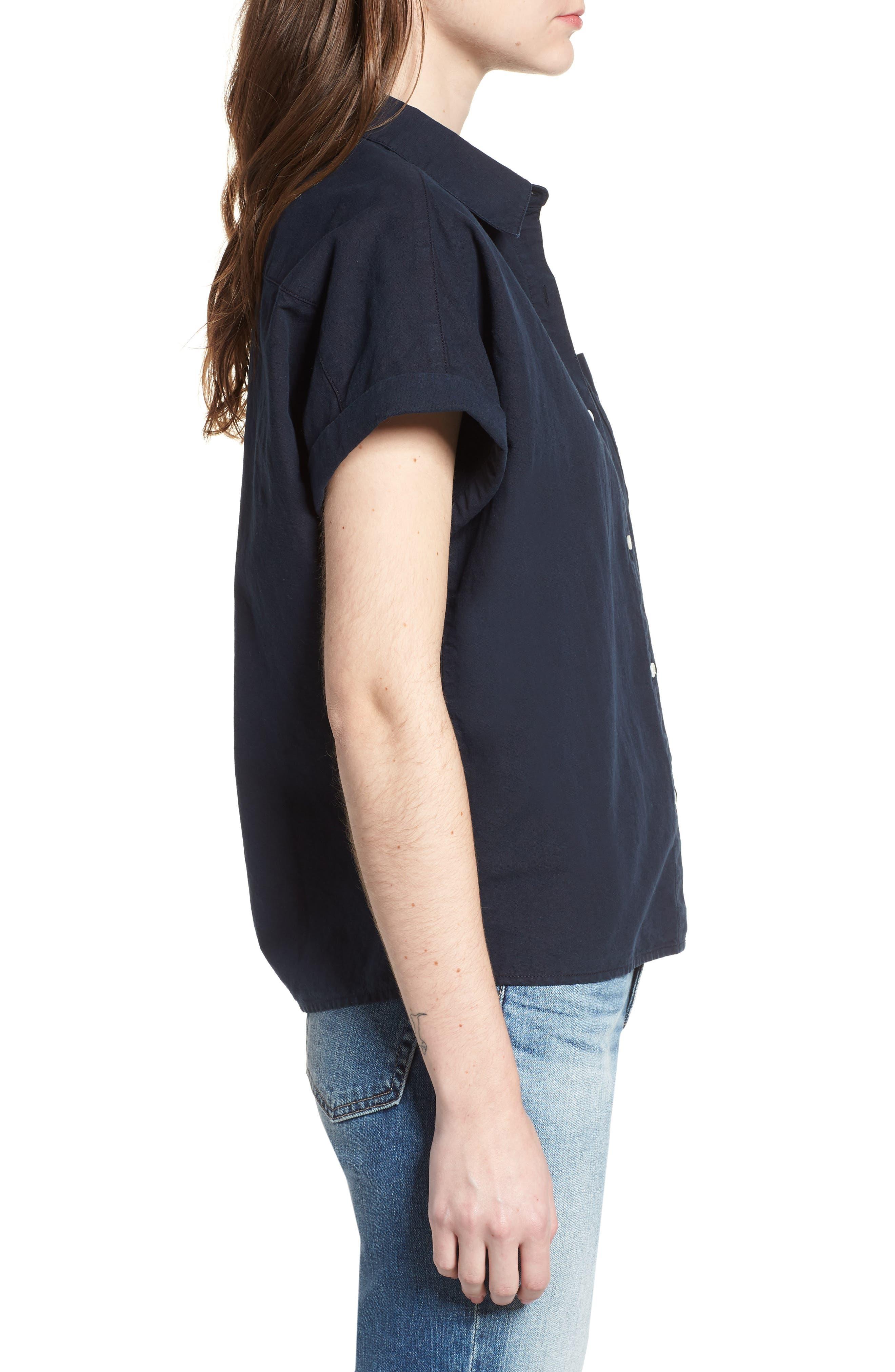 Hadley Shirt,                             Alternate thumbnail 3, color,                             SULFUR DARK COVE
