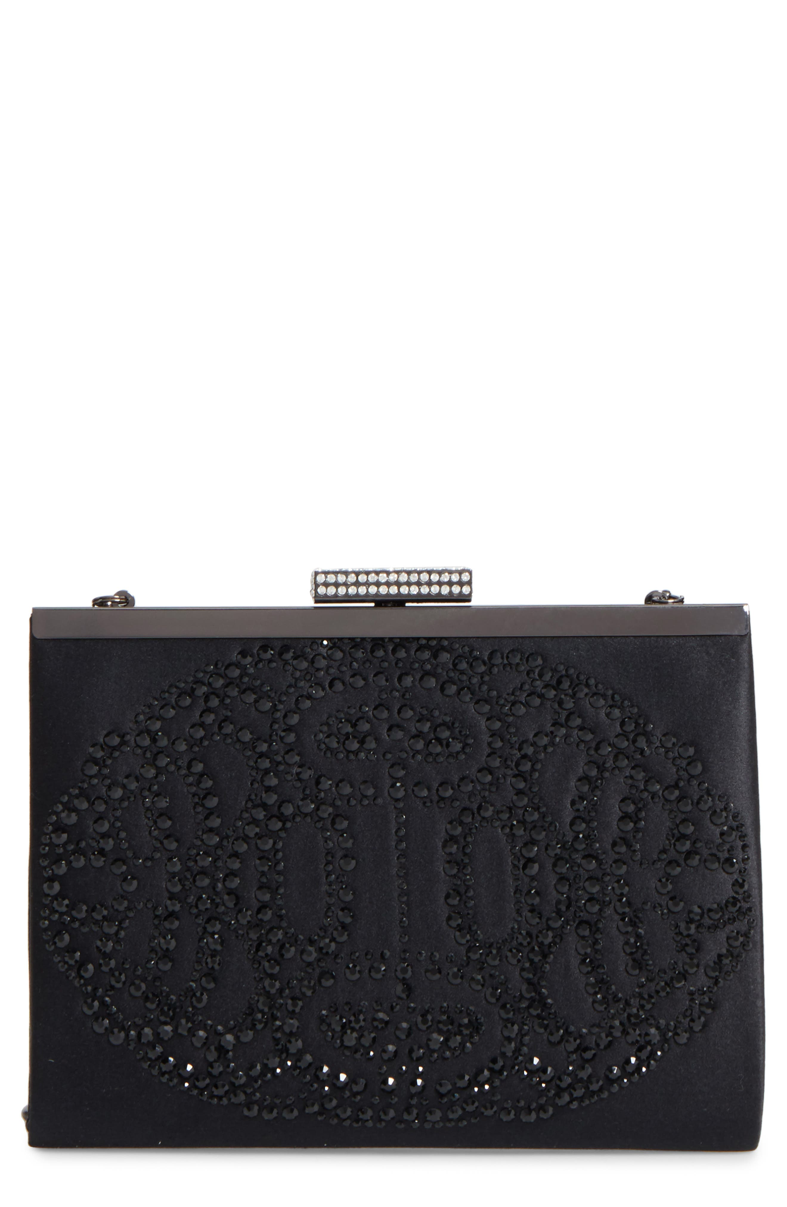 Alice Frame Clutch,                             Main thumbnail 1, color,                             001