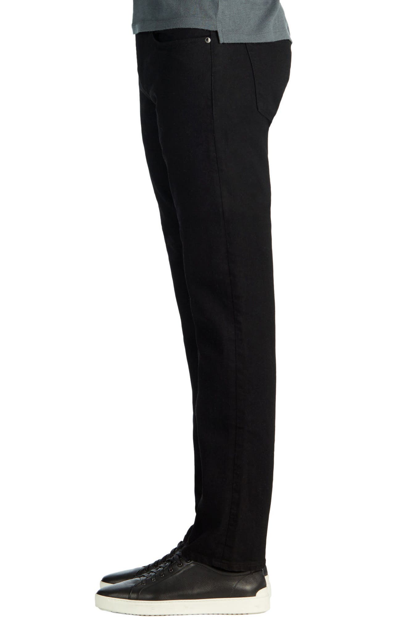 J BRAND,                             Kane Slim Straight Leg Jeans,                             Alternate thumbnail 3, color,                             TRIVOR BLACK