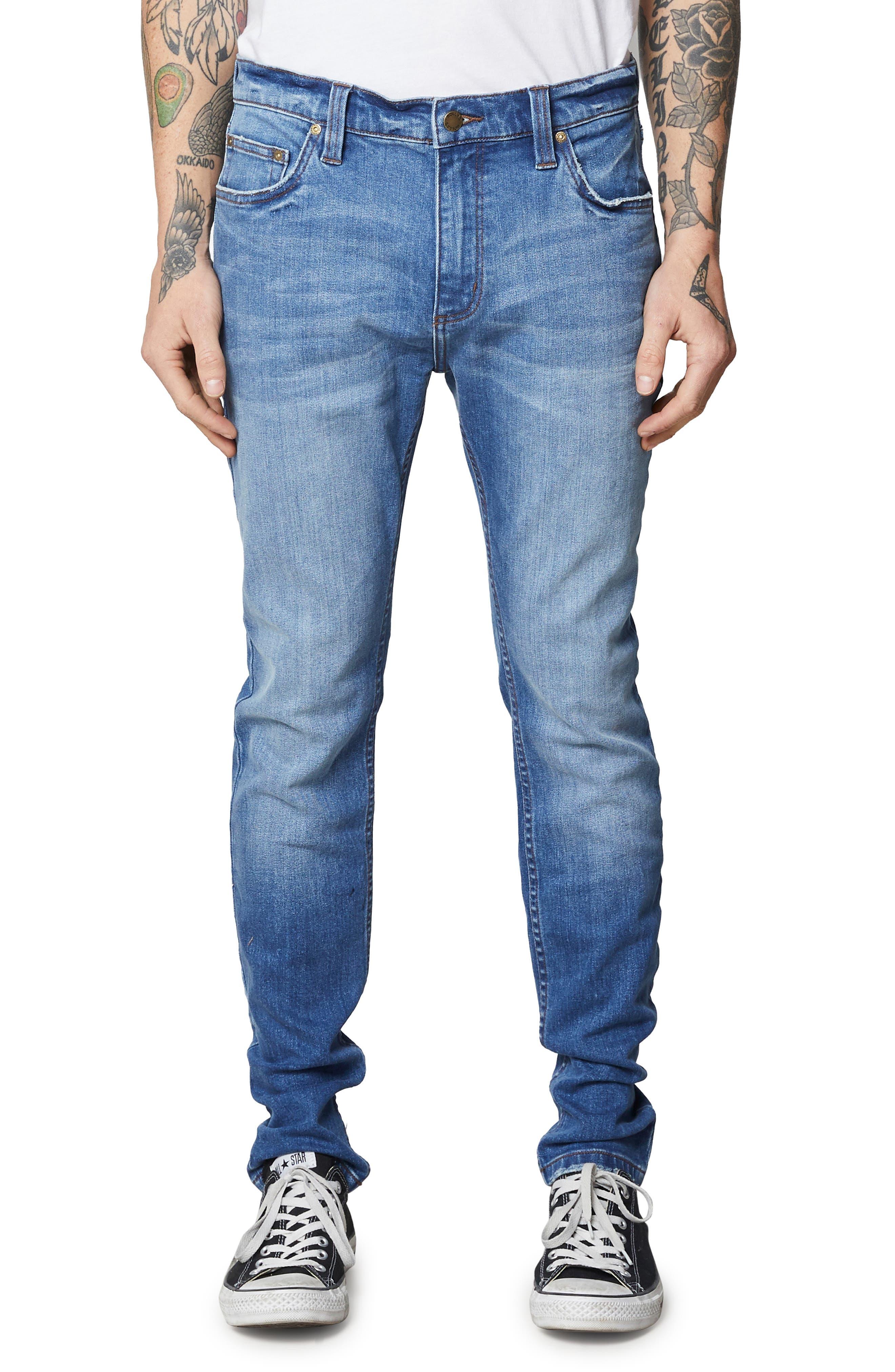 Stinger Skinny Fit Jeans,                         Main,                         color, HOMESPUN CRUSH