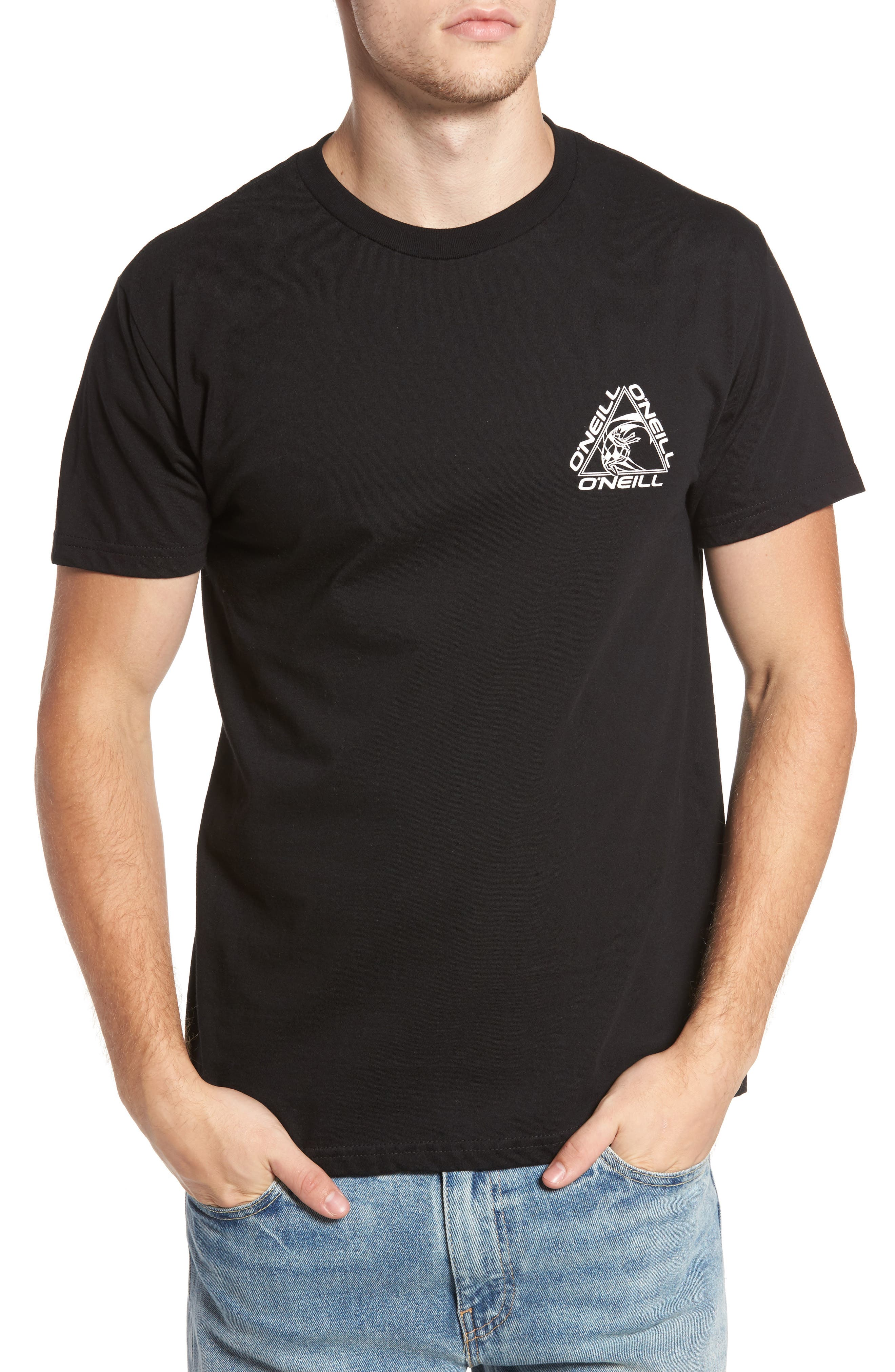 Triad Graphic T-Shirt,                             Main thumbnail 1, color,                             001