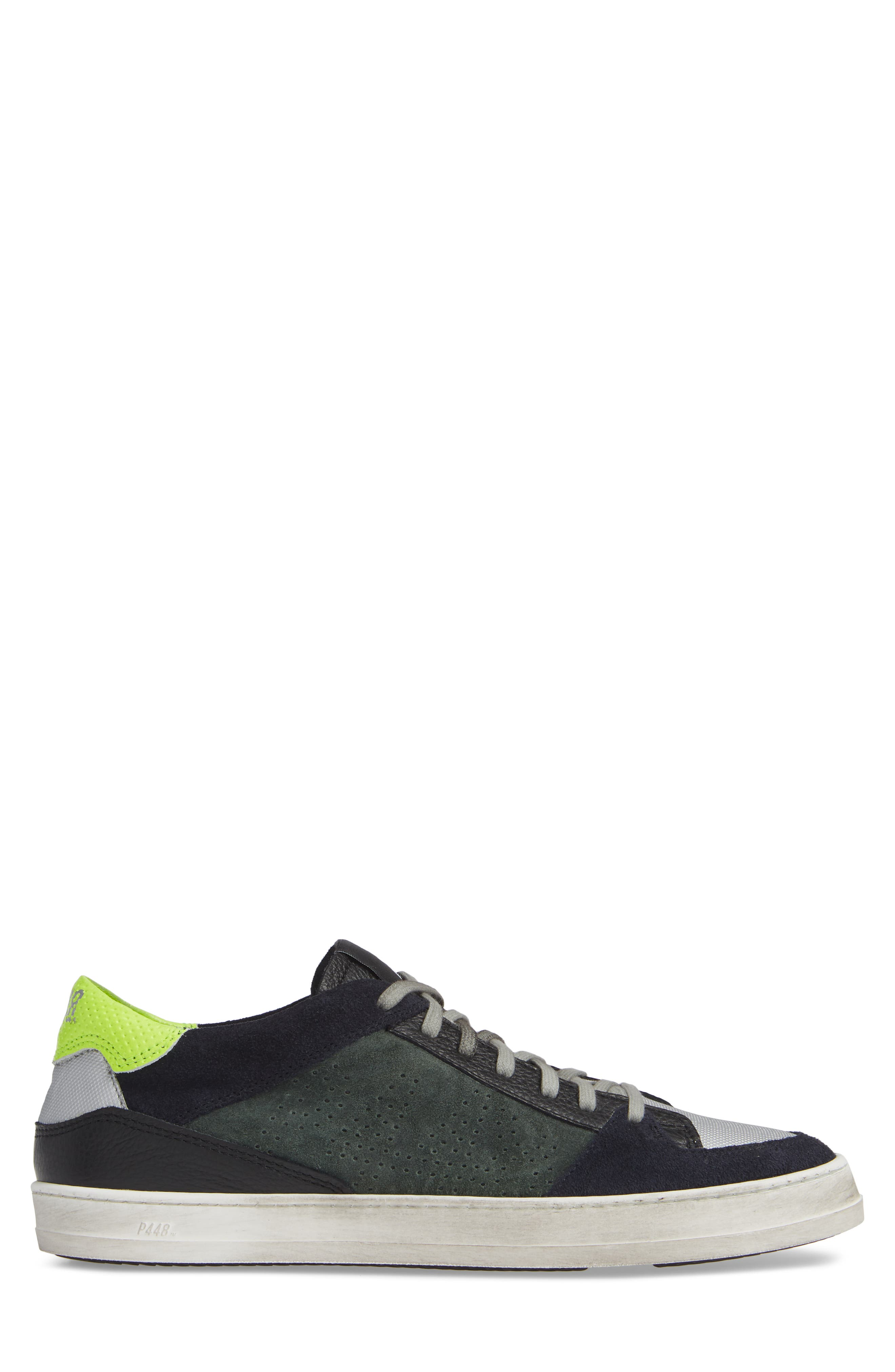 A8Queens Sneaker,                             Alternate thumbnail 3, color,                             WILLOW GREEN