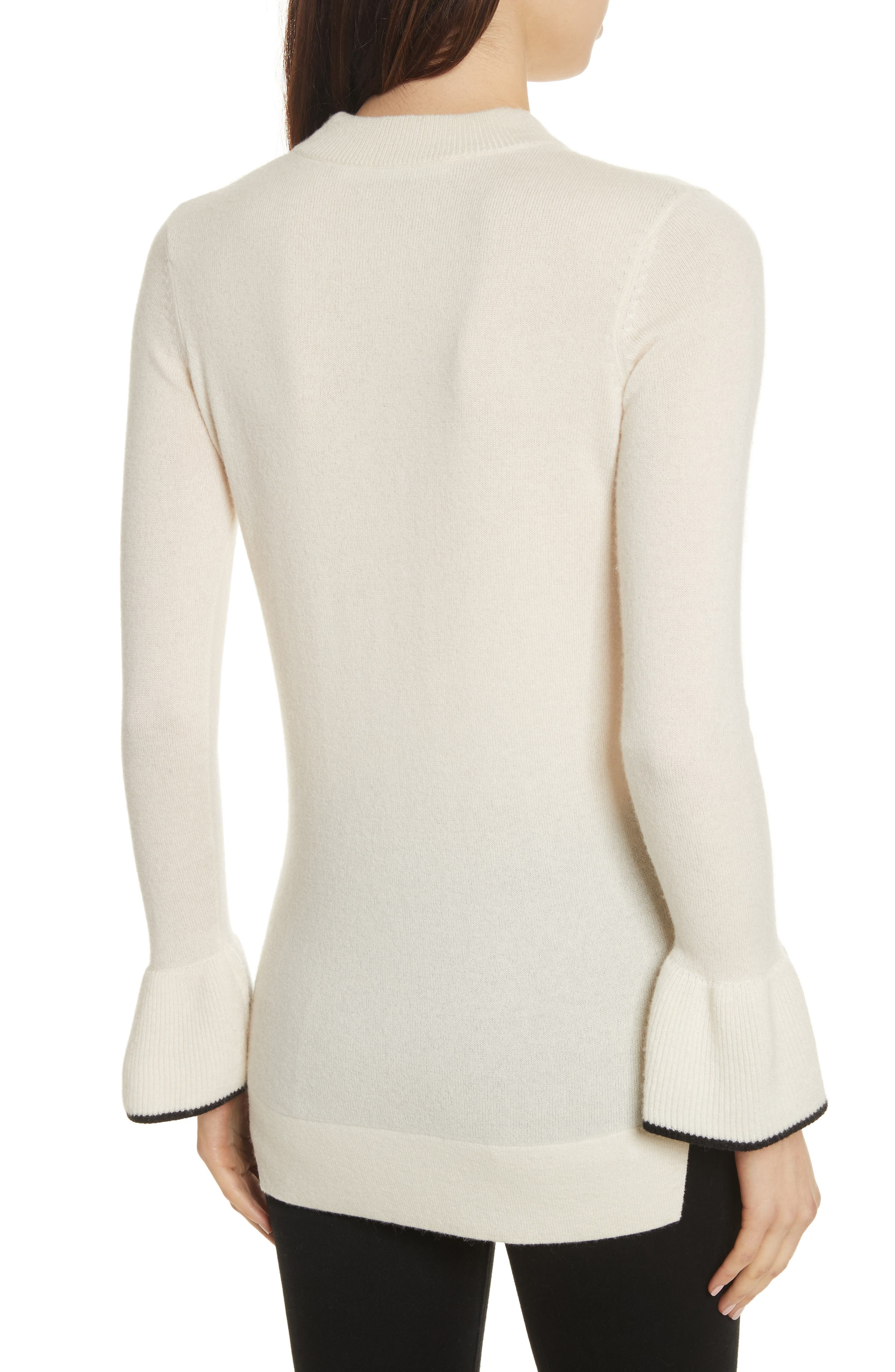 Mar Cashmere Sweater,                             Alternate thumbnail 4, color,