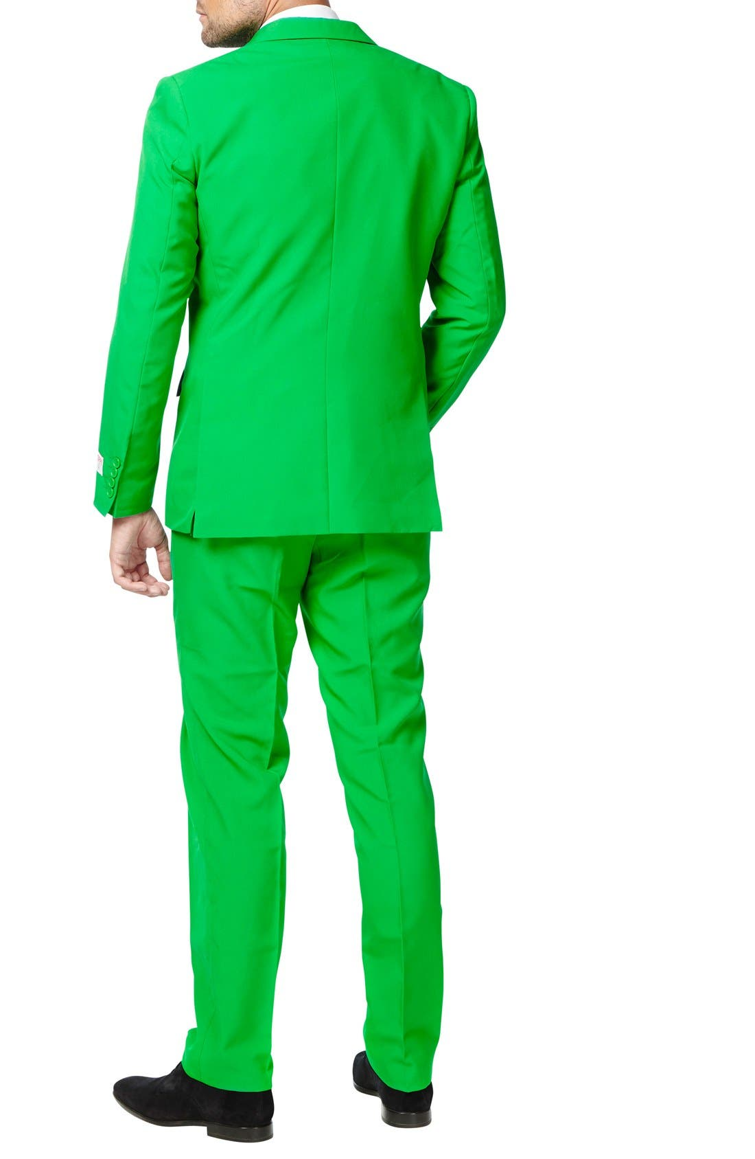 'Evergreen' Trim Fit Suit with Tie,                             Alternate thumbnail 2, color,                             300