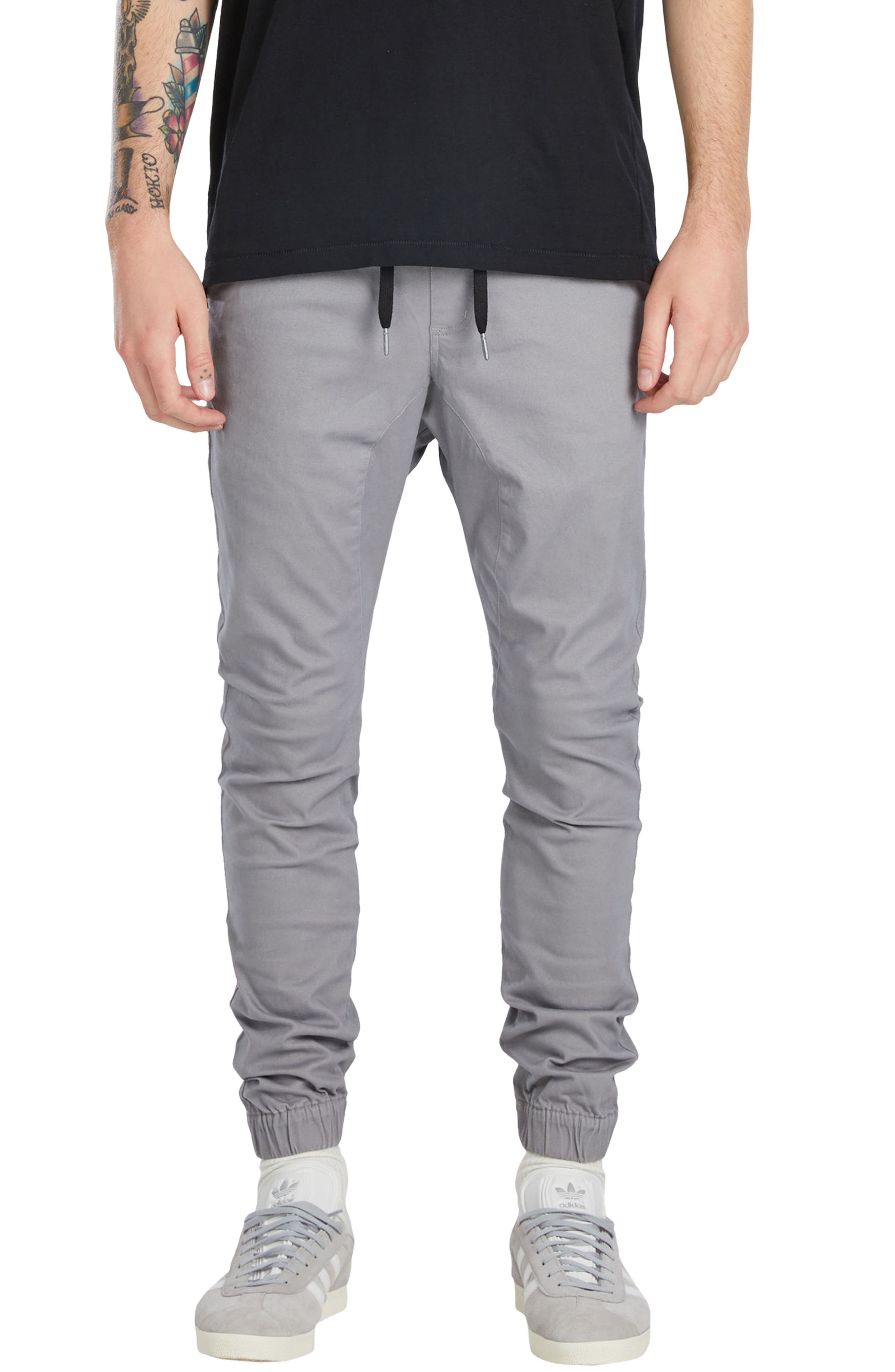 Sureshot Jogger Pants,                             Main thumbnail 1, color,                             CEMENT