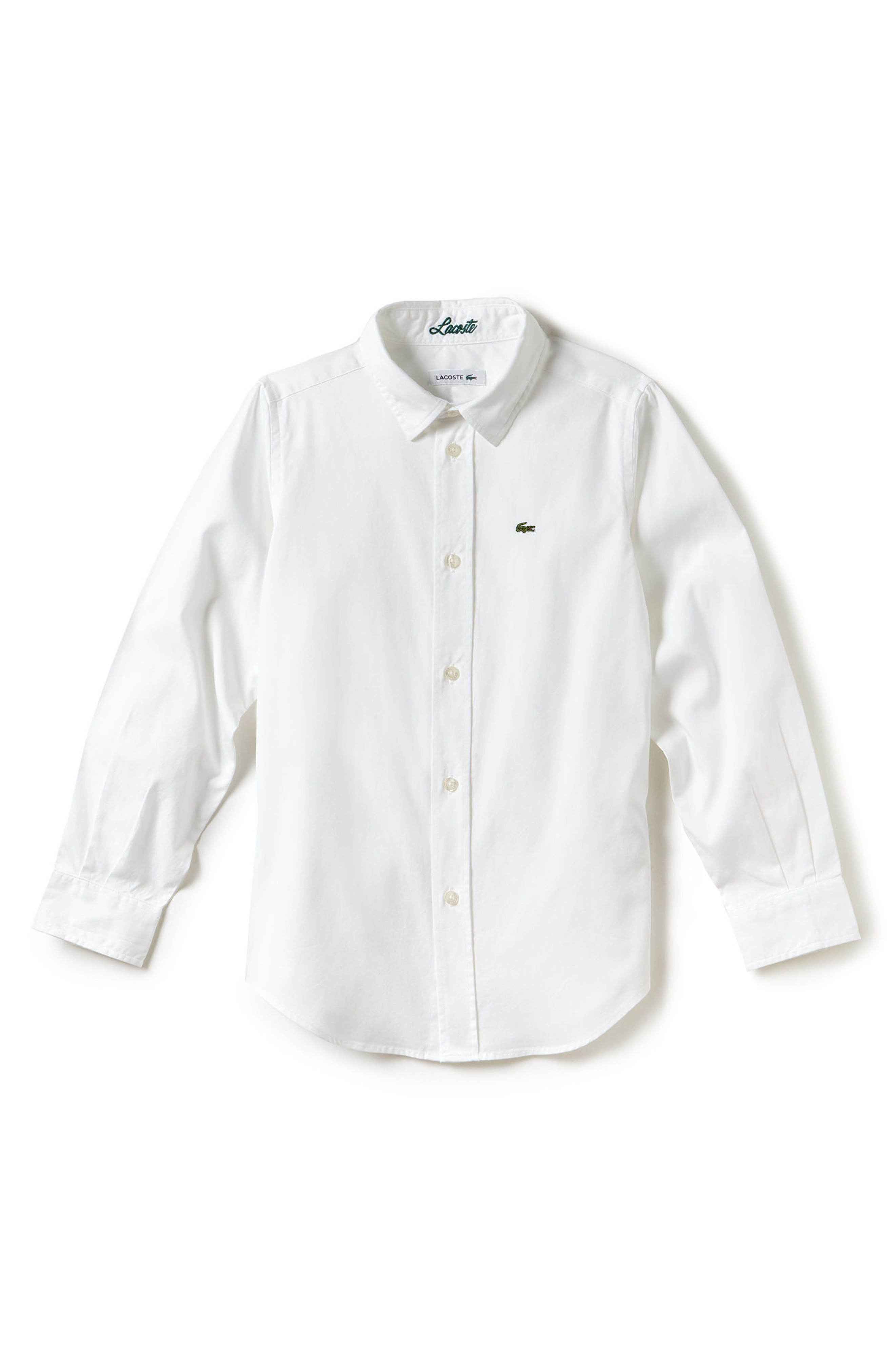 Classic Oxford Shirt,                         Main,                         color, 100