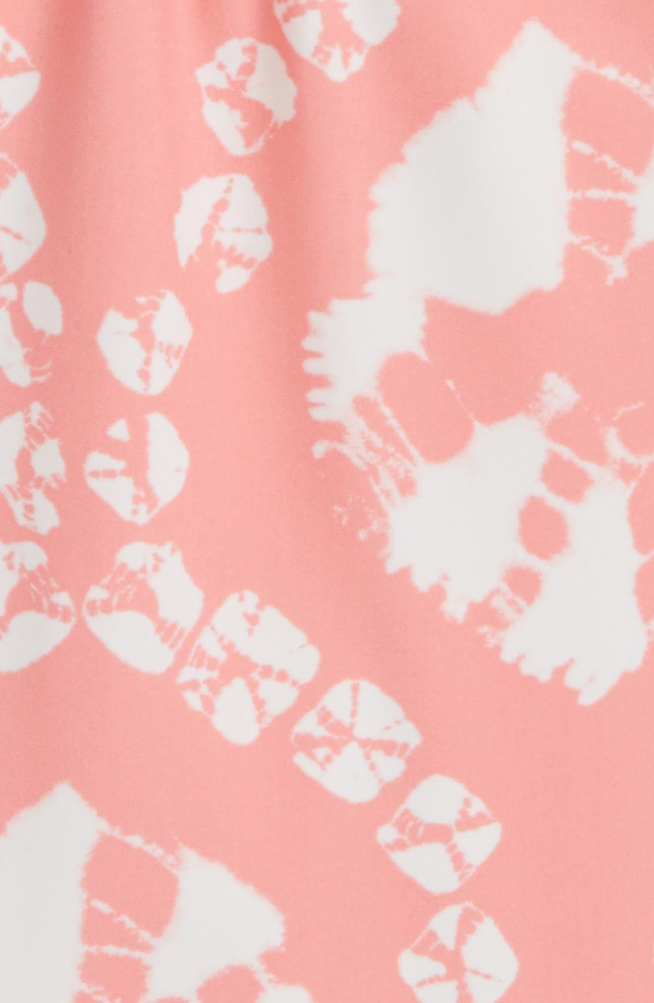 Tie Dye One-Piece Swimsuit,                             Alternate thumbnail 4, color,
