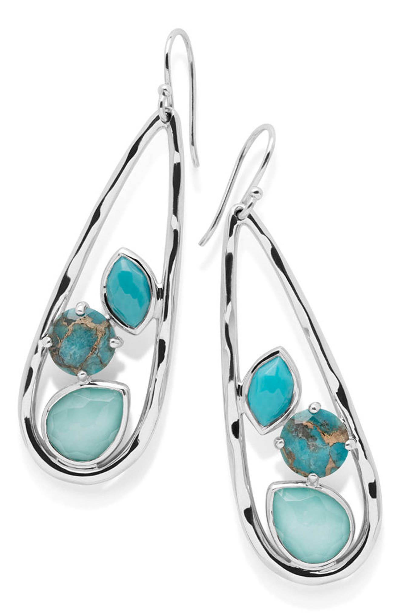 Rock Candy Teardrop Earrings,                             Main thumbnail 1, color,