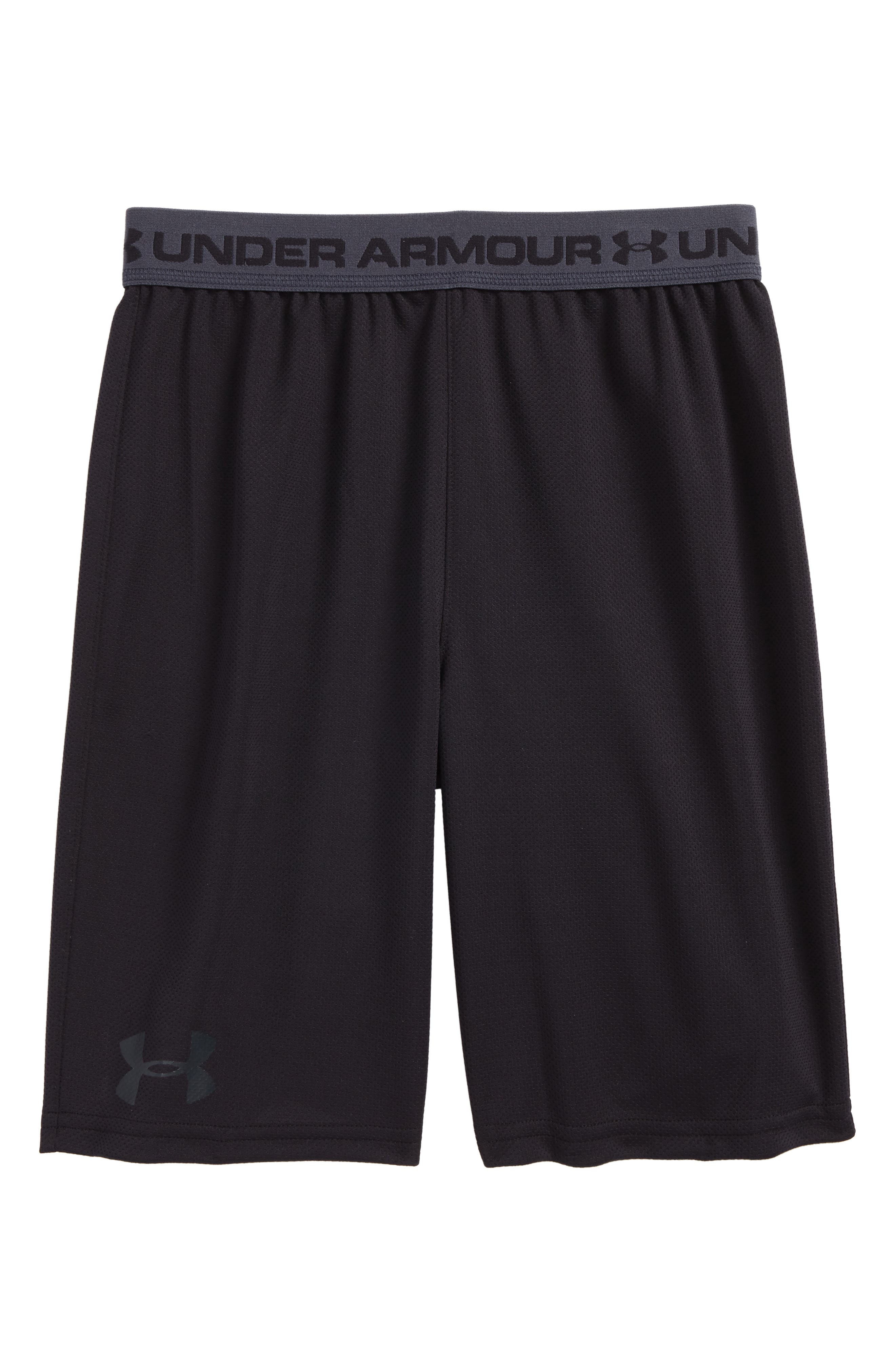 Tech Prototype HeatGear<sup>®</sup> Shorts,                         Main,                         color, BLACK/ STEALTH GRAY